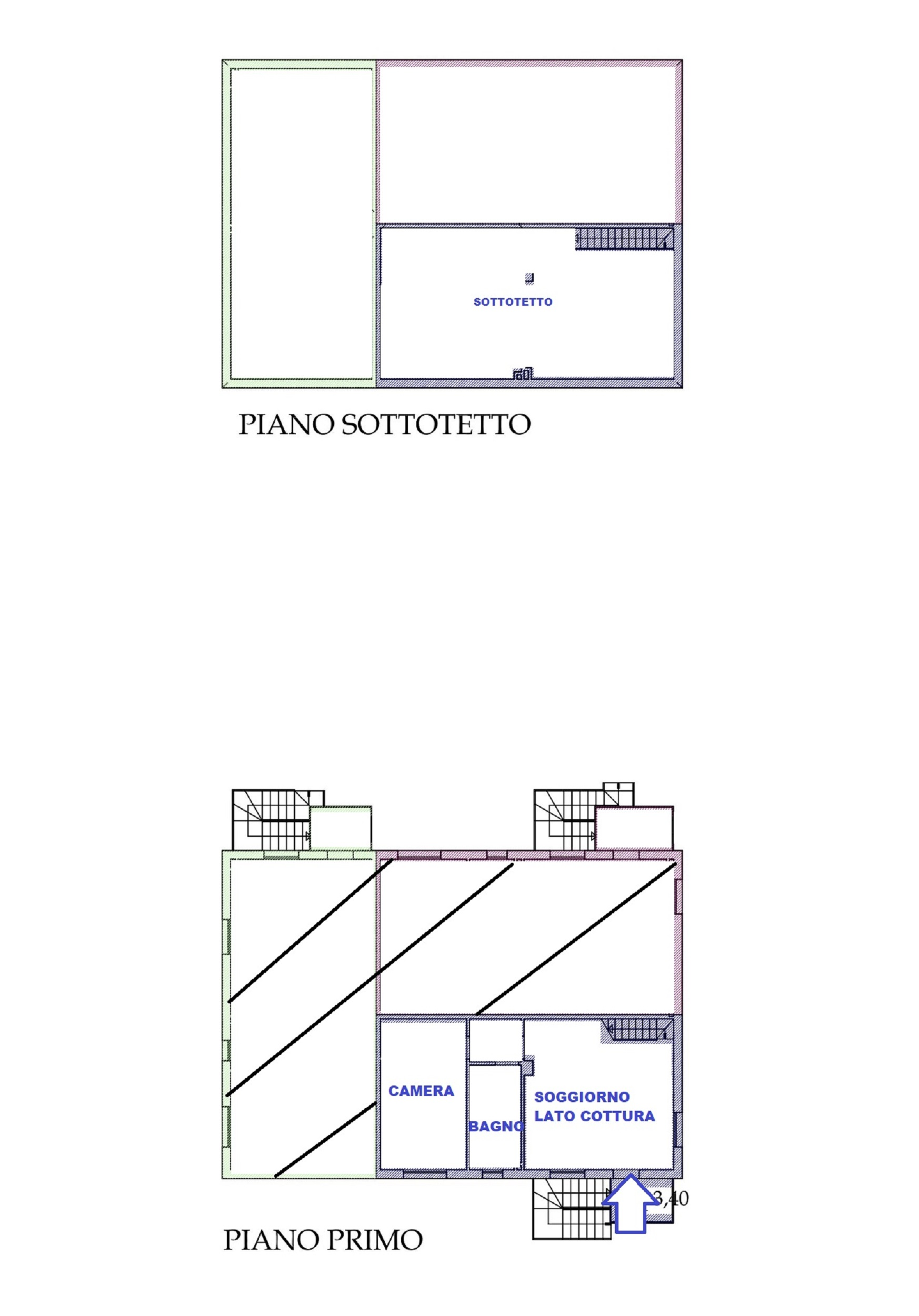 Planimetria 1/1 per rif. 426/B