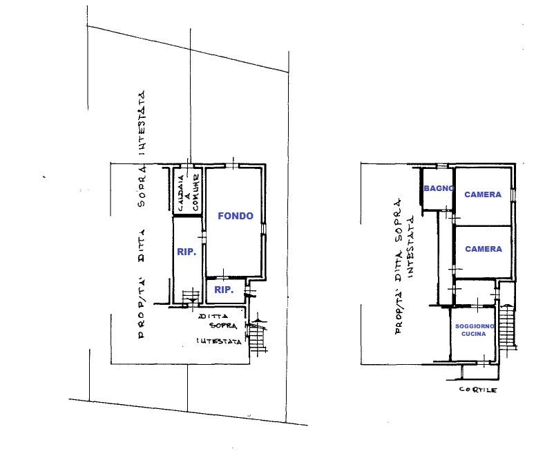 Planimetria 2/2 per rif. 424/B