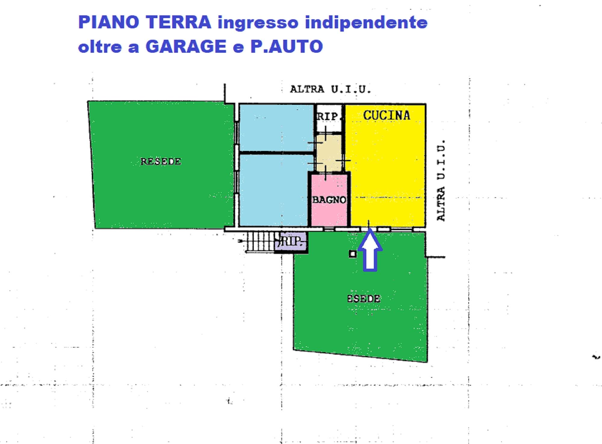 Planimetria 1/1 per rif. 427/B