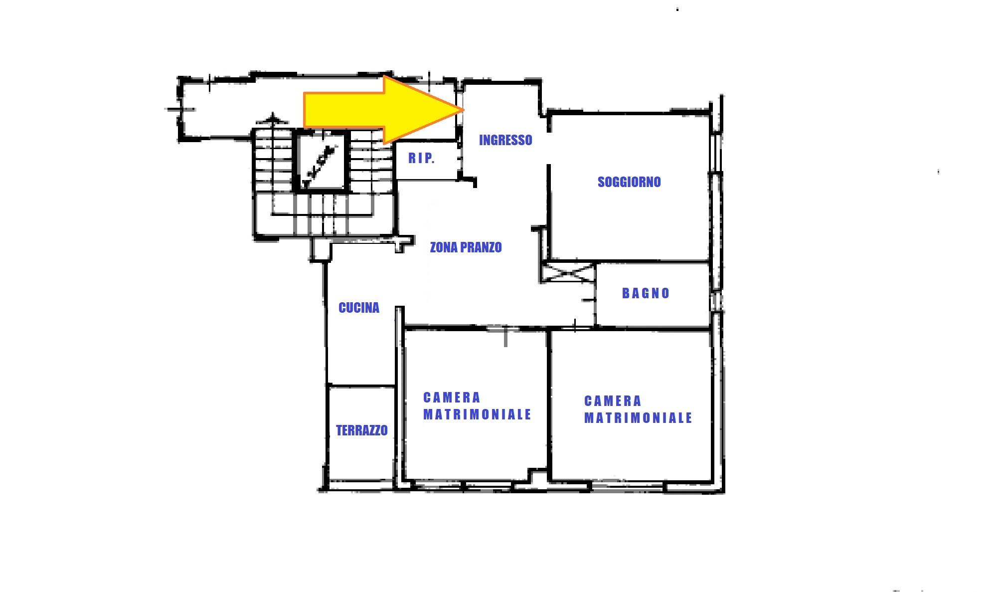 Planimetria 1/1 per rif. 635/A