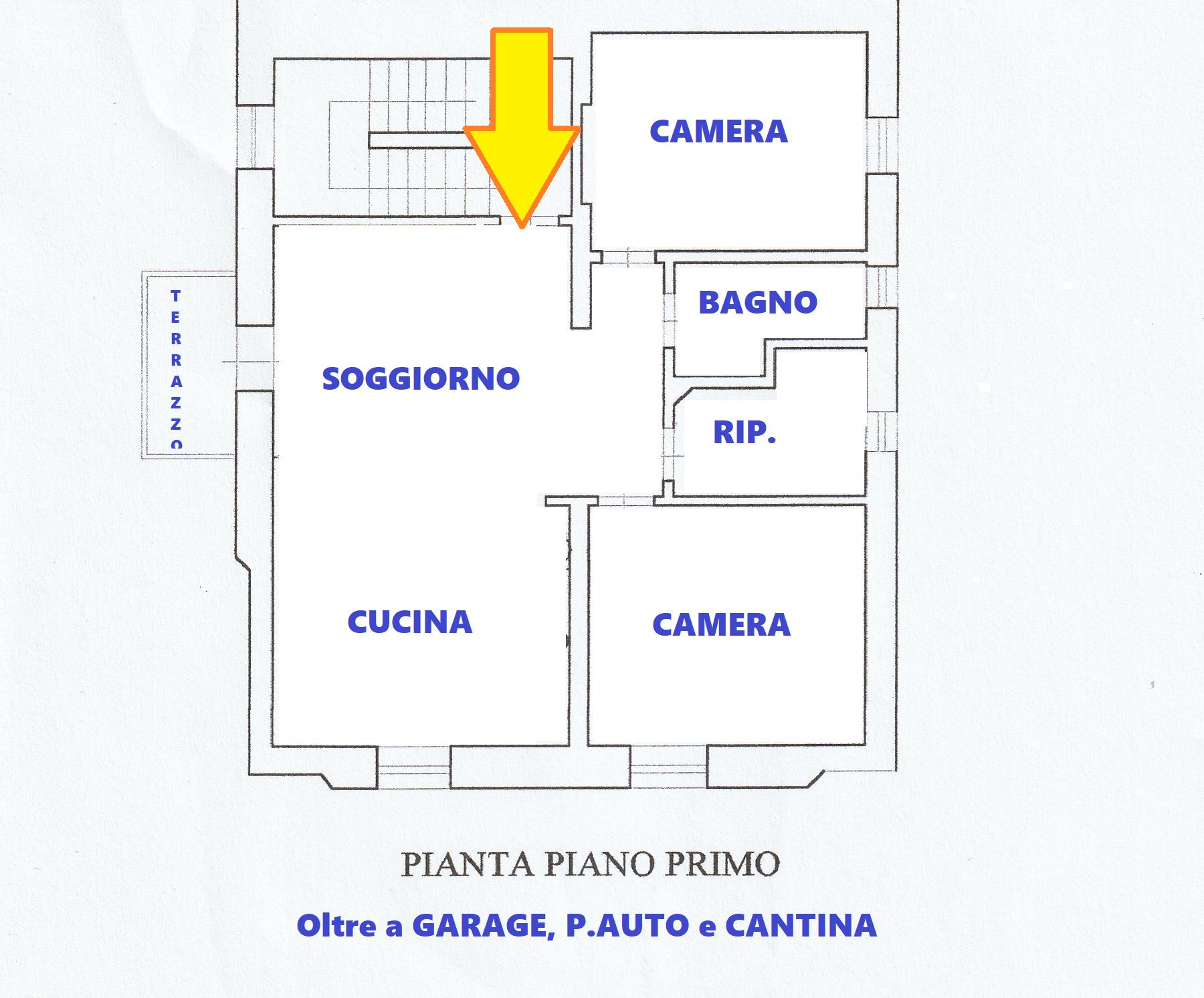 Planimetria 1/1 per rif. 636/a