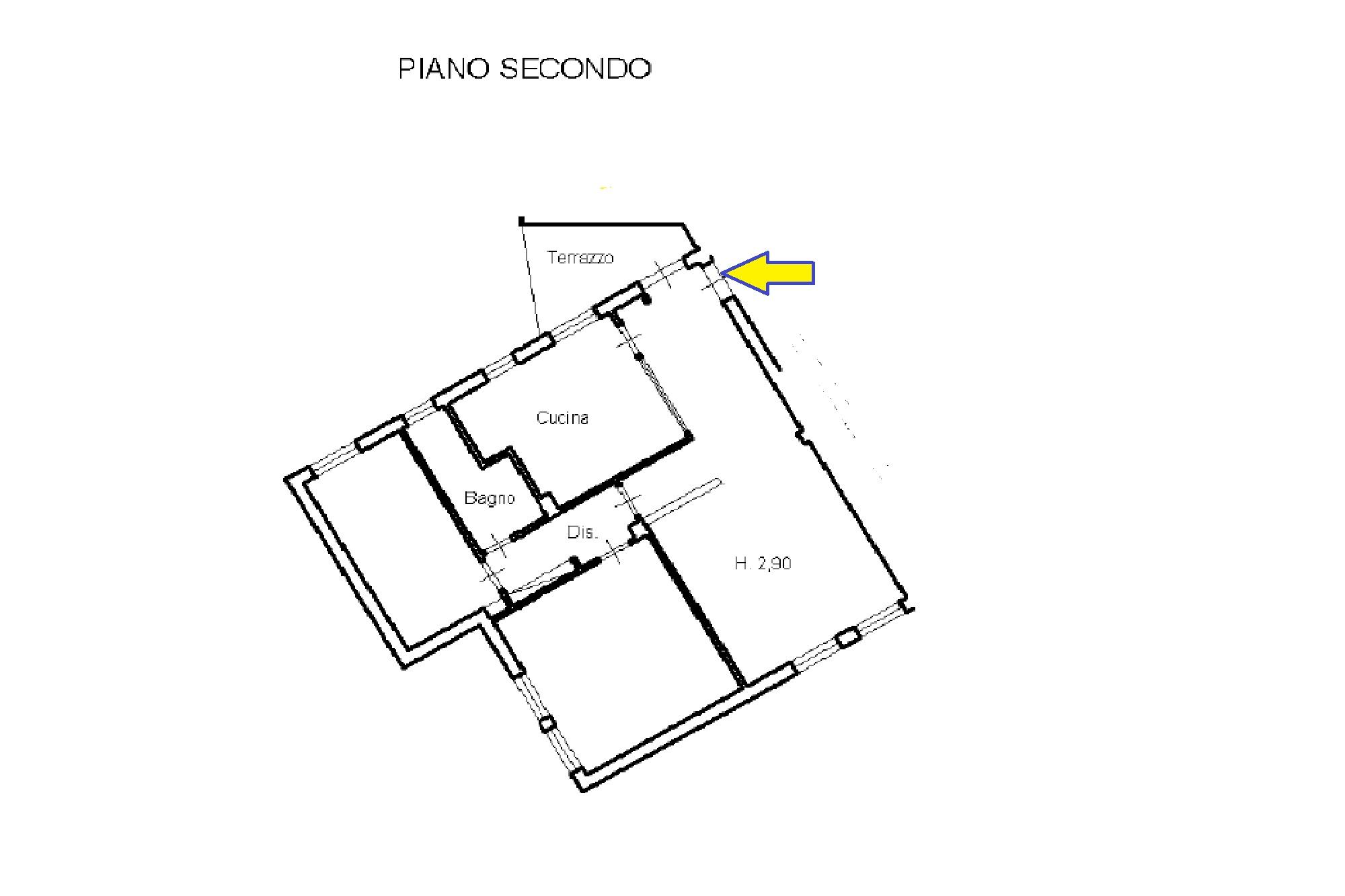 Planimetria 1/1 per rif. 637/A