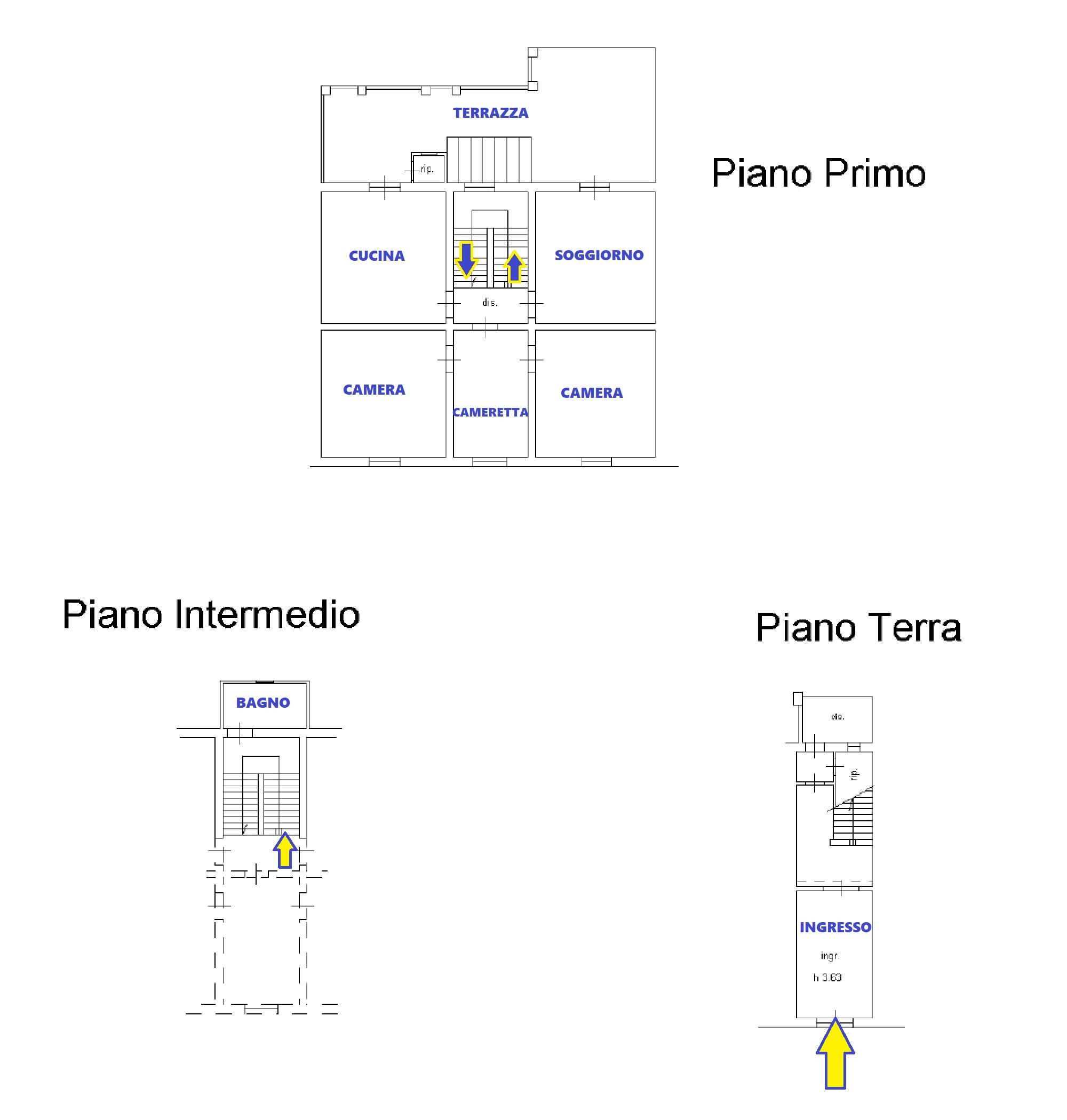 Planimetria 1/1 per rif. 638/A