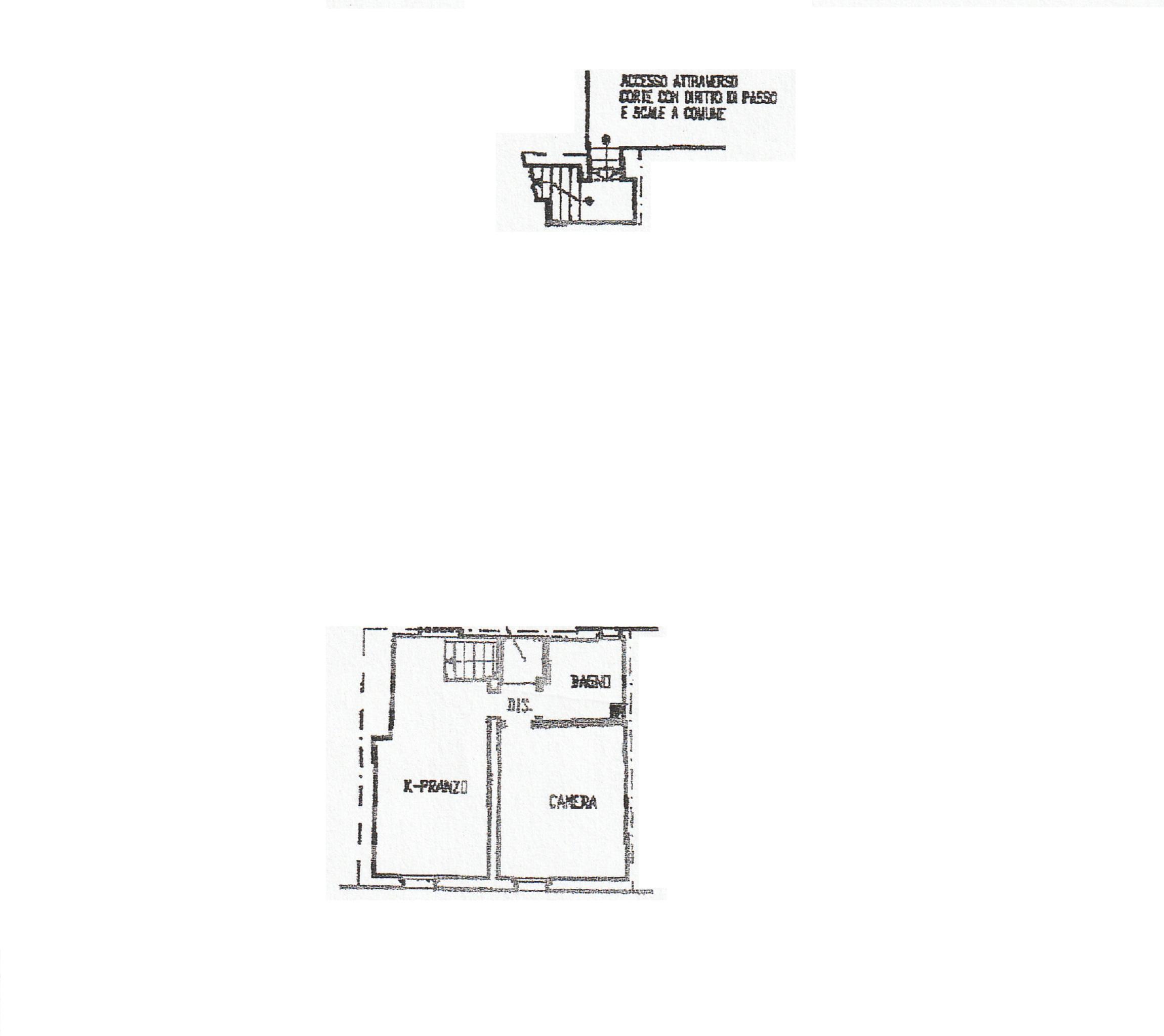 Planimetria 1/1 per rif. 434/B
