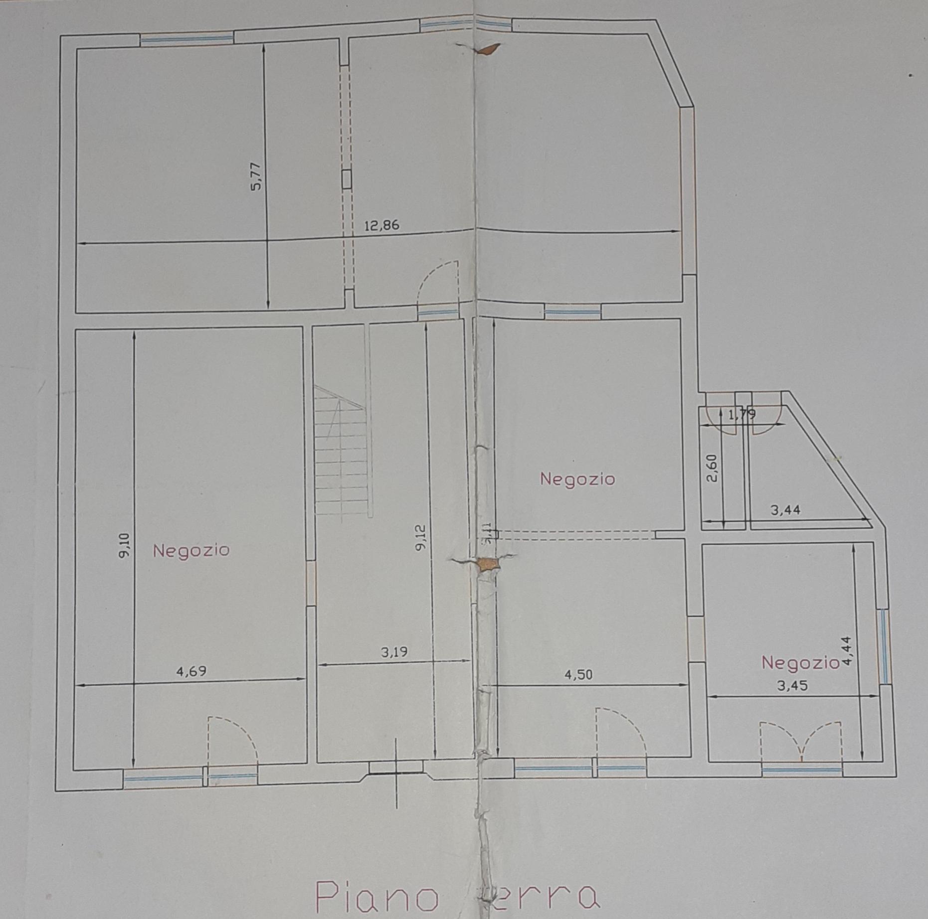 Planimetria 1/2 per rif. 435/B