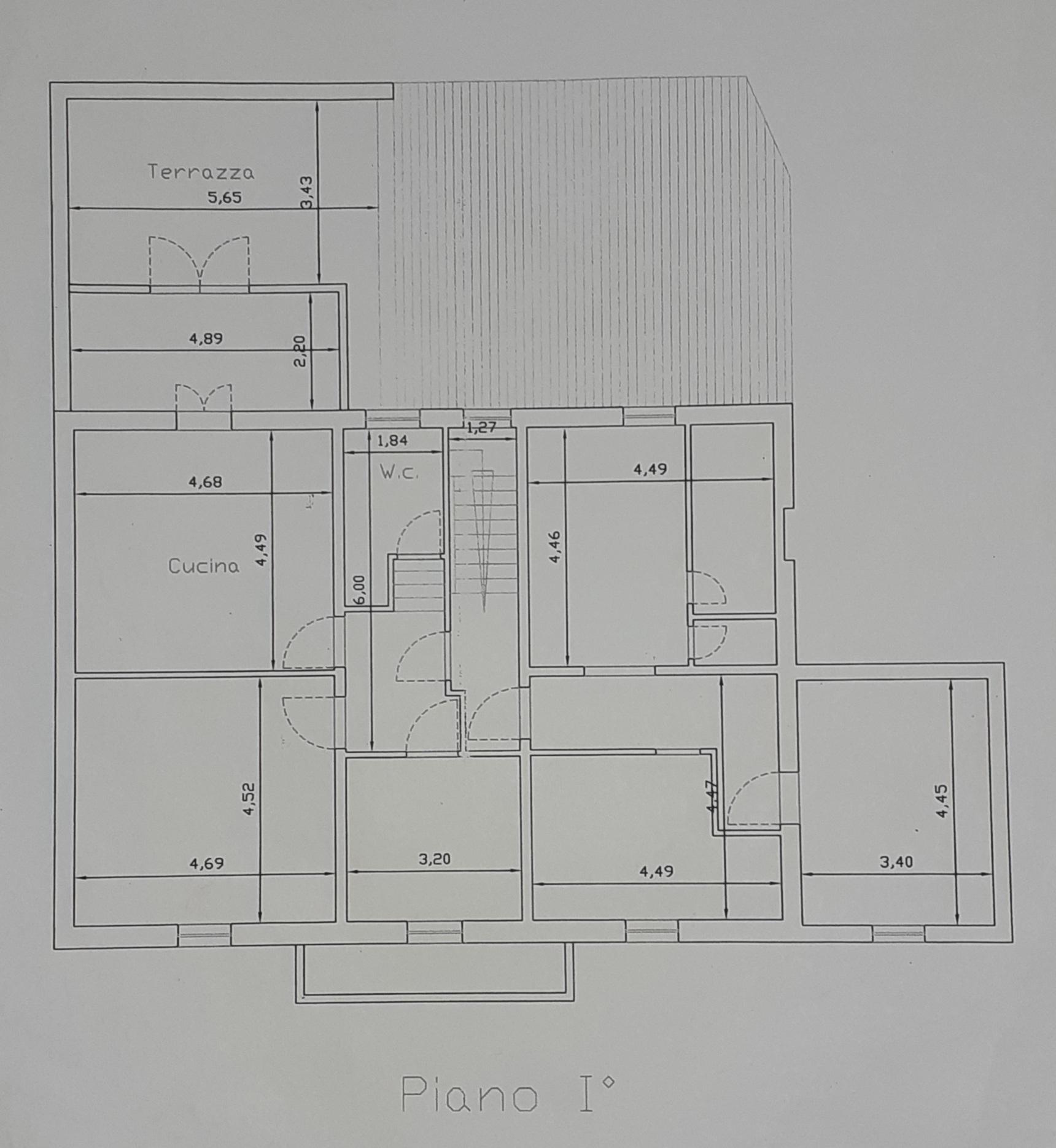 Planimetria 2/2 per rif. 435/B