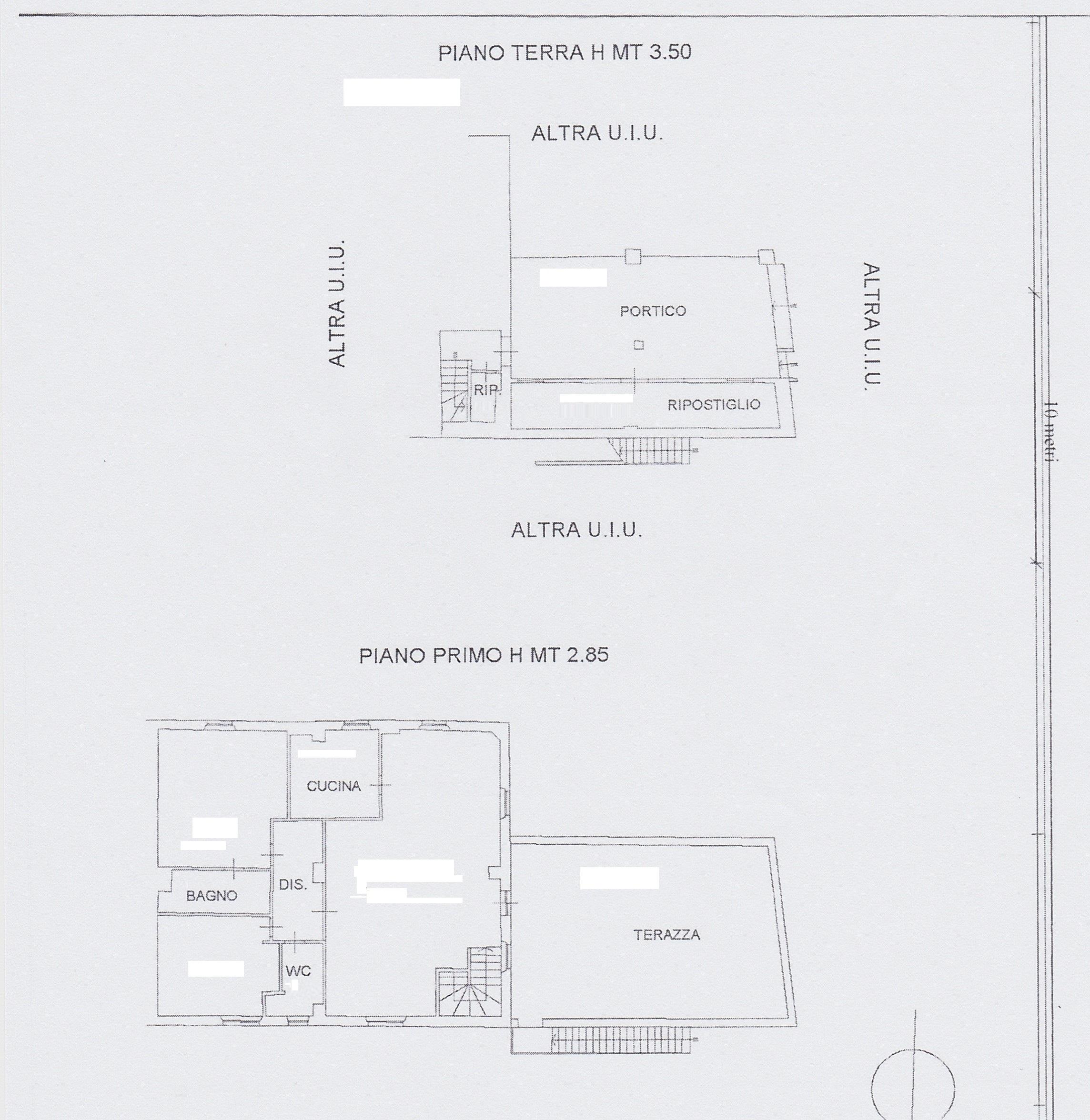 Planimetria /1 per rif. 0943a