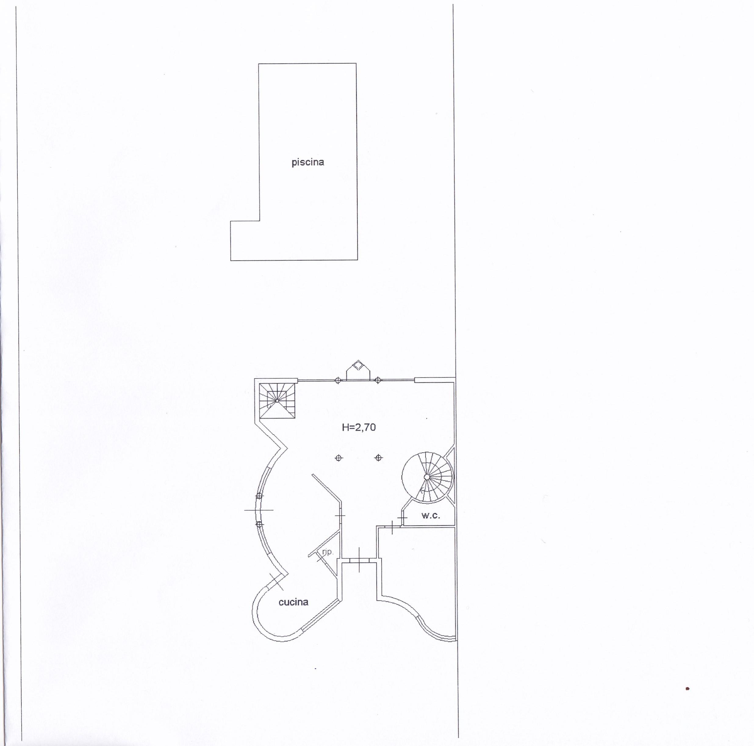 Planimetria 1/5 per rif. Z126