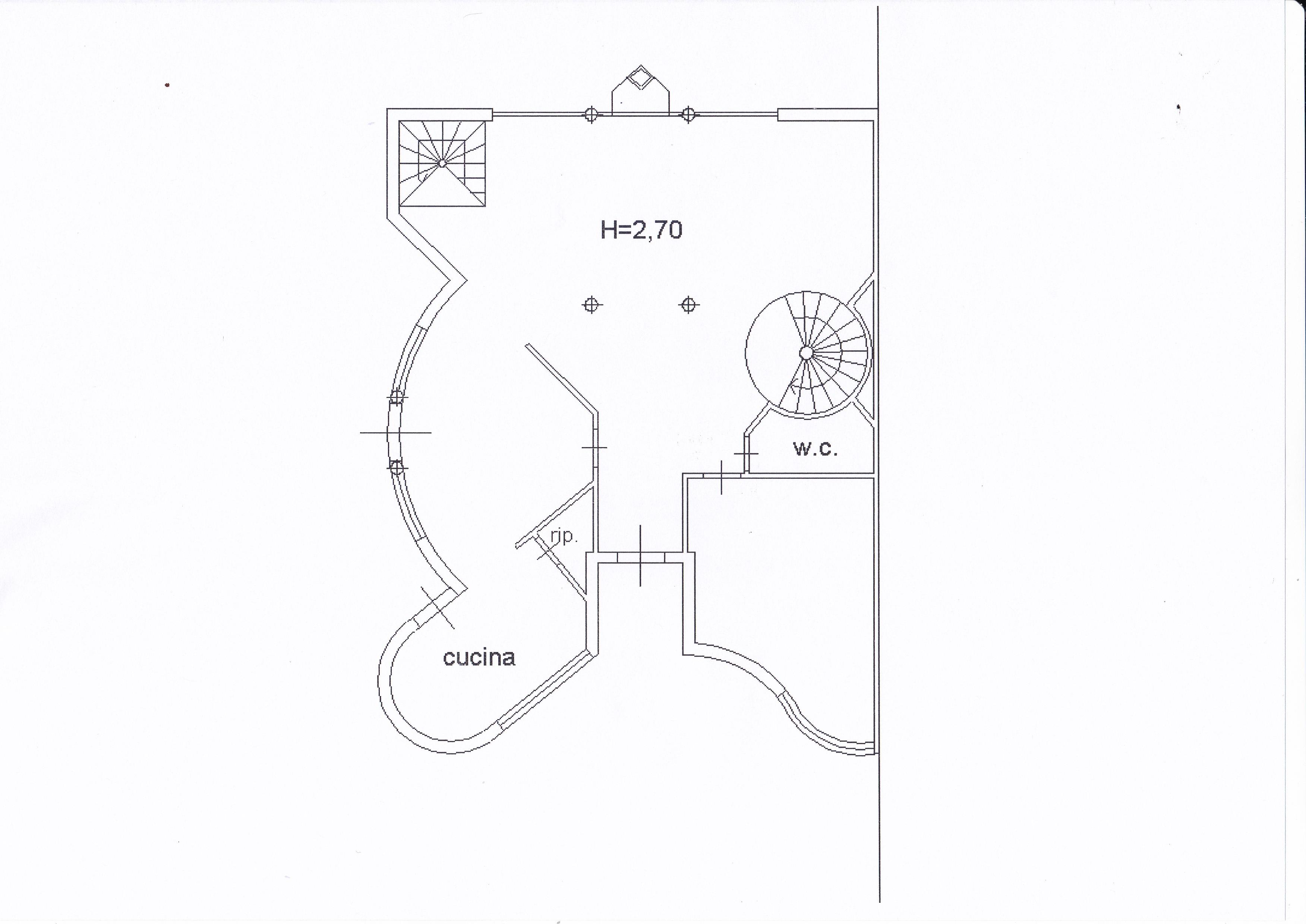 Planimetria 2/5 per rif. Z126