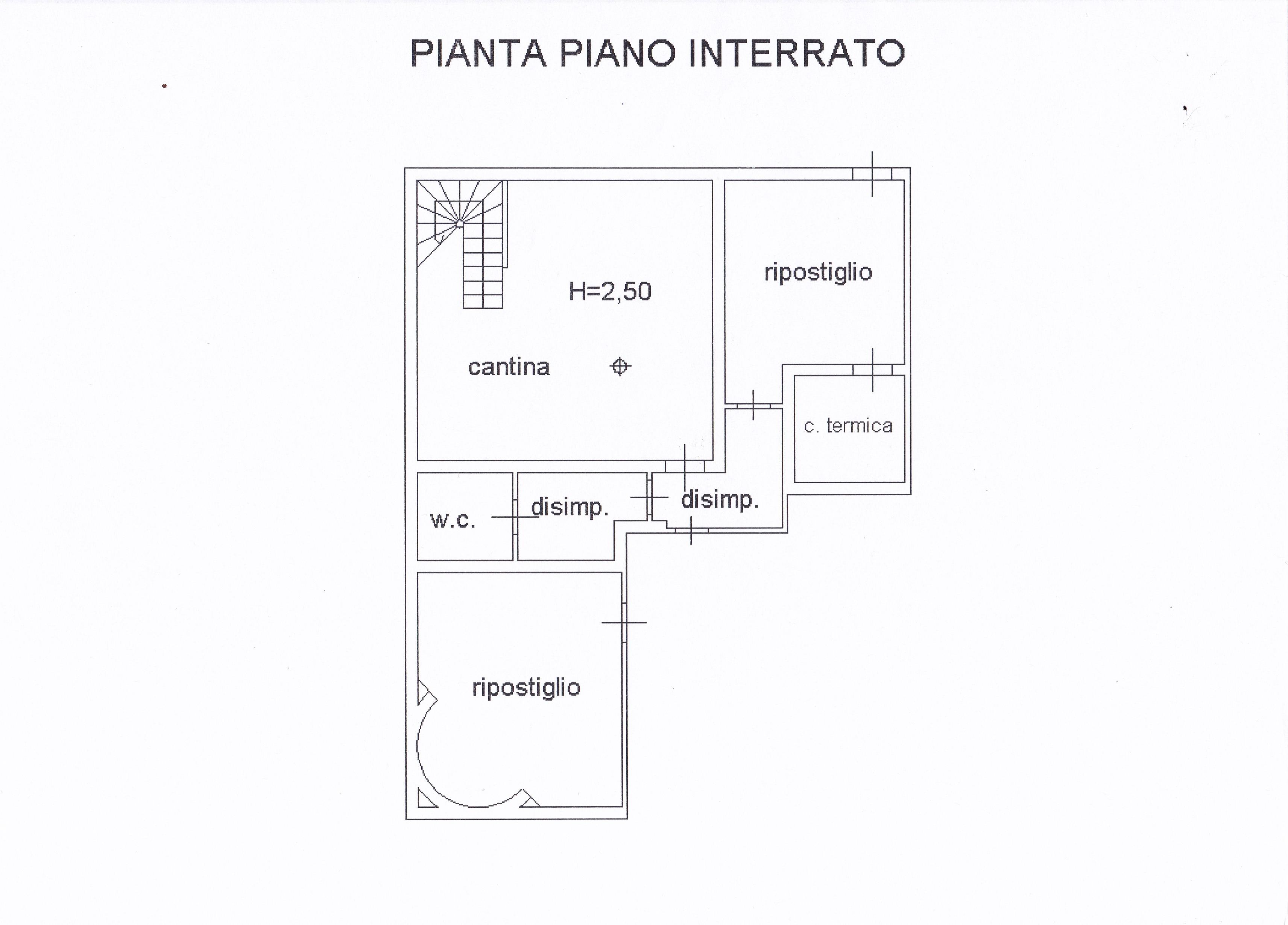 Planimetria 5/5 per rif. Z126
