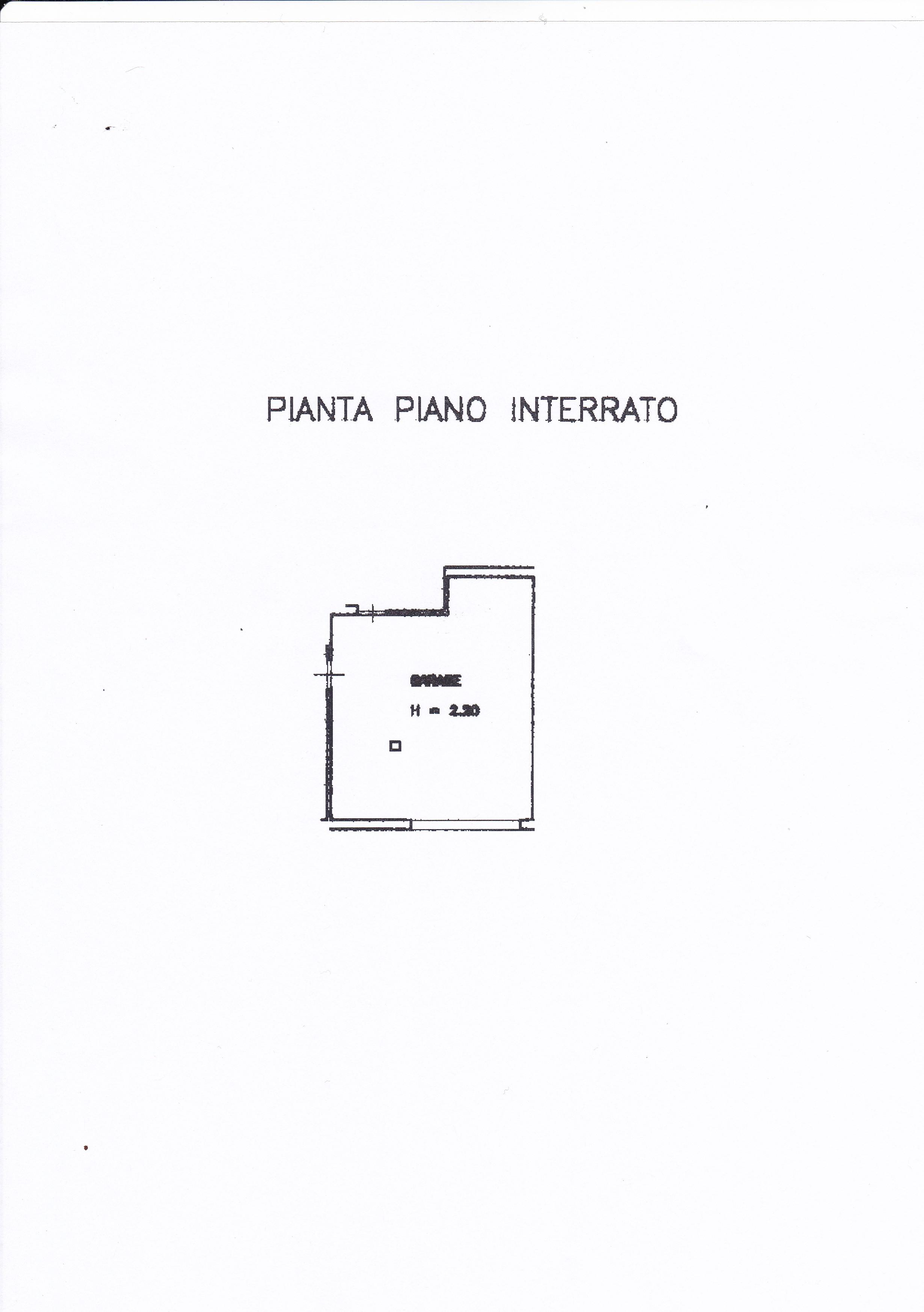Planimetria 3/5 per rif. Z126