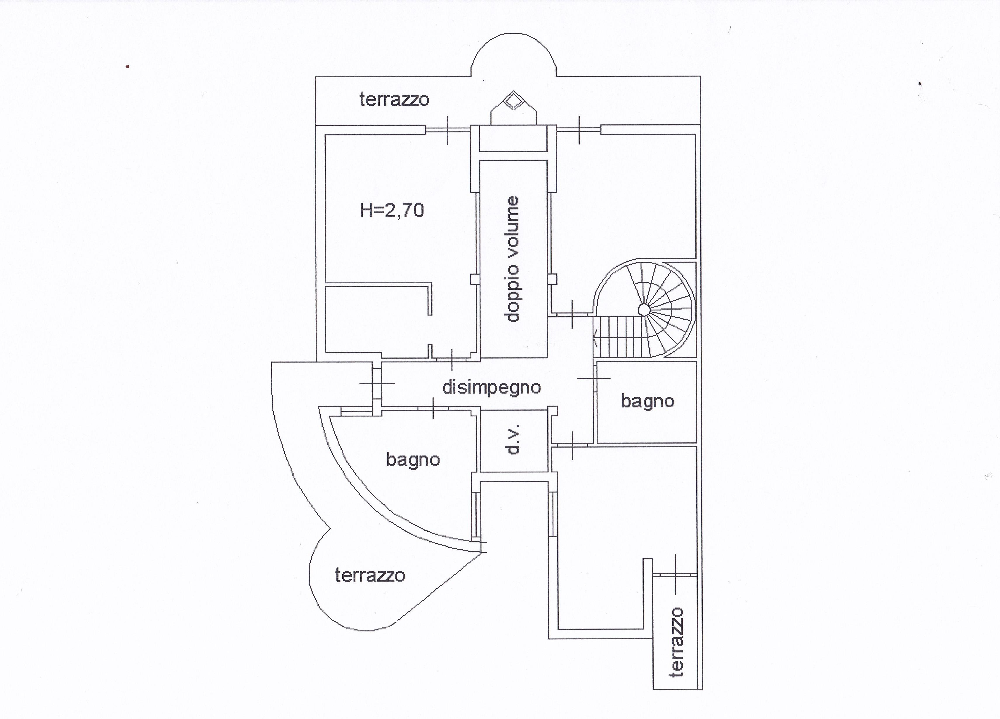 Planimetria 4/5 per rif. Z126
