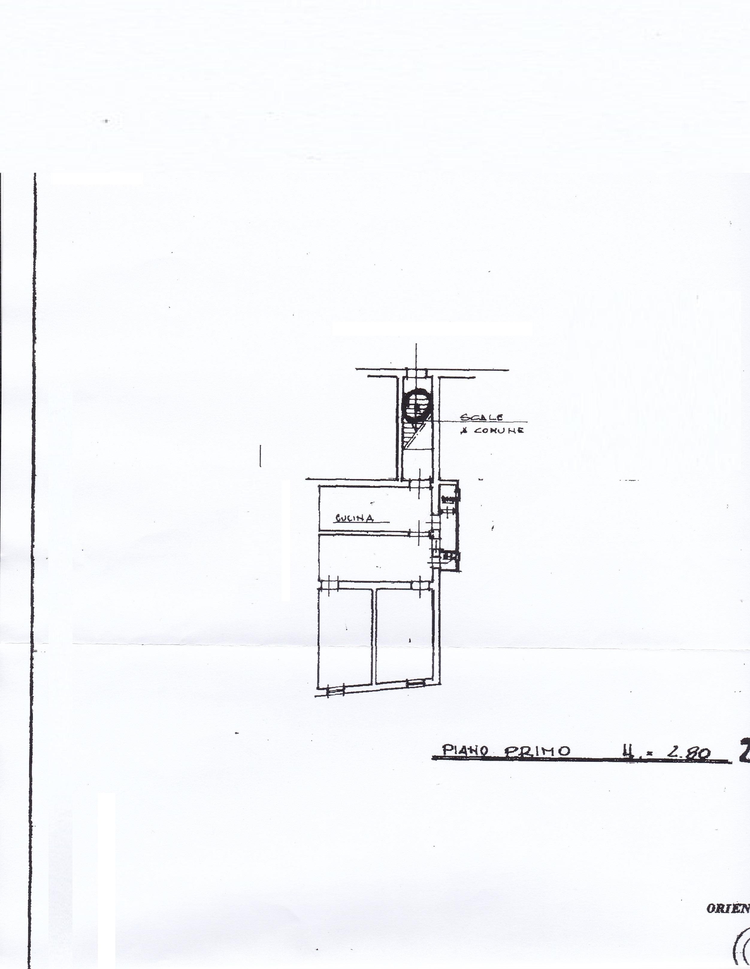 Planimetria 1/1 per rif. 1700a