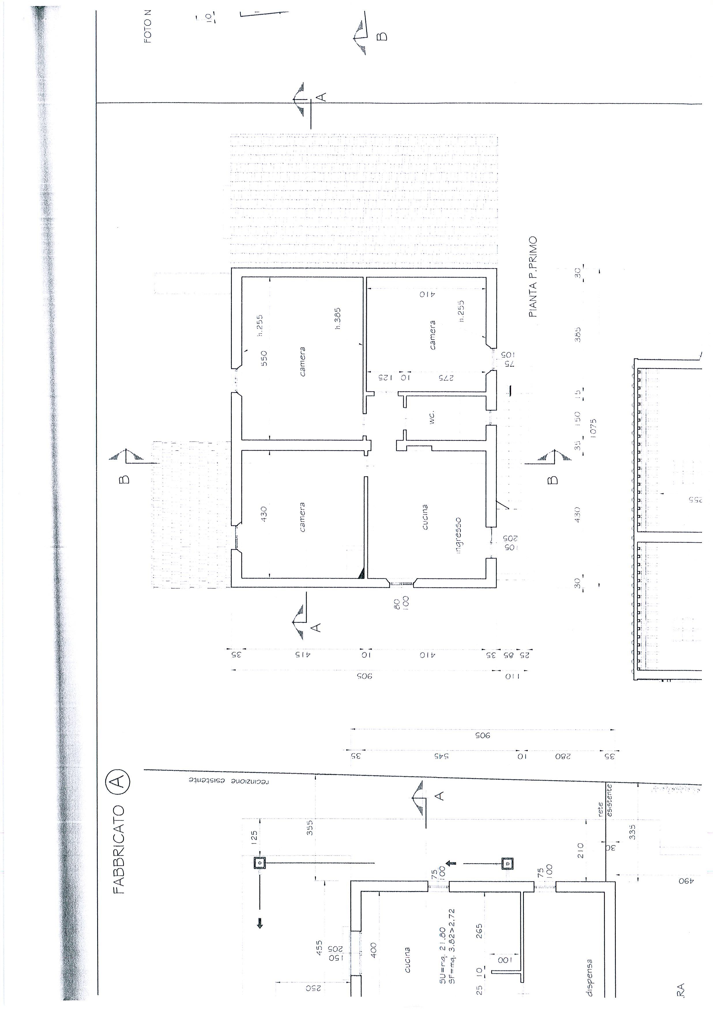 Planimetria 2/7 per rif. 1328a