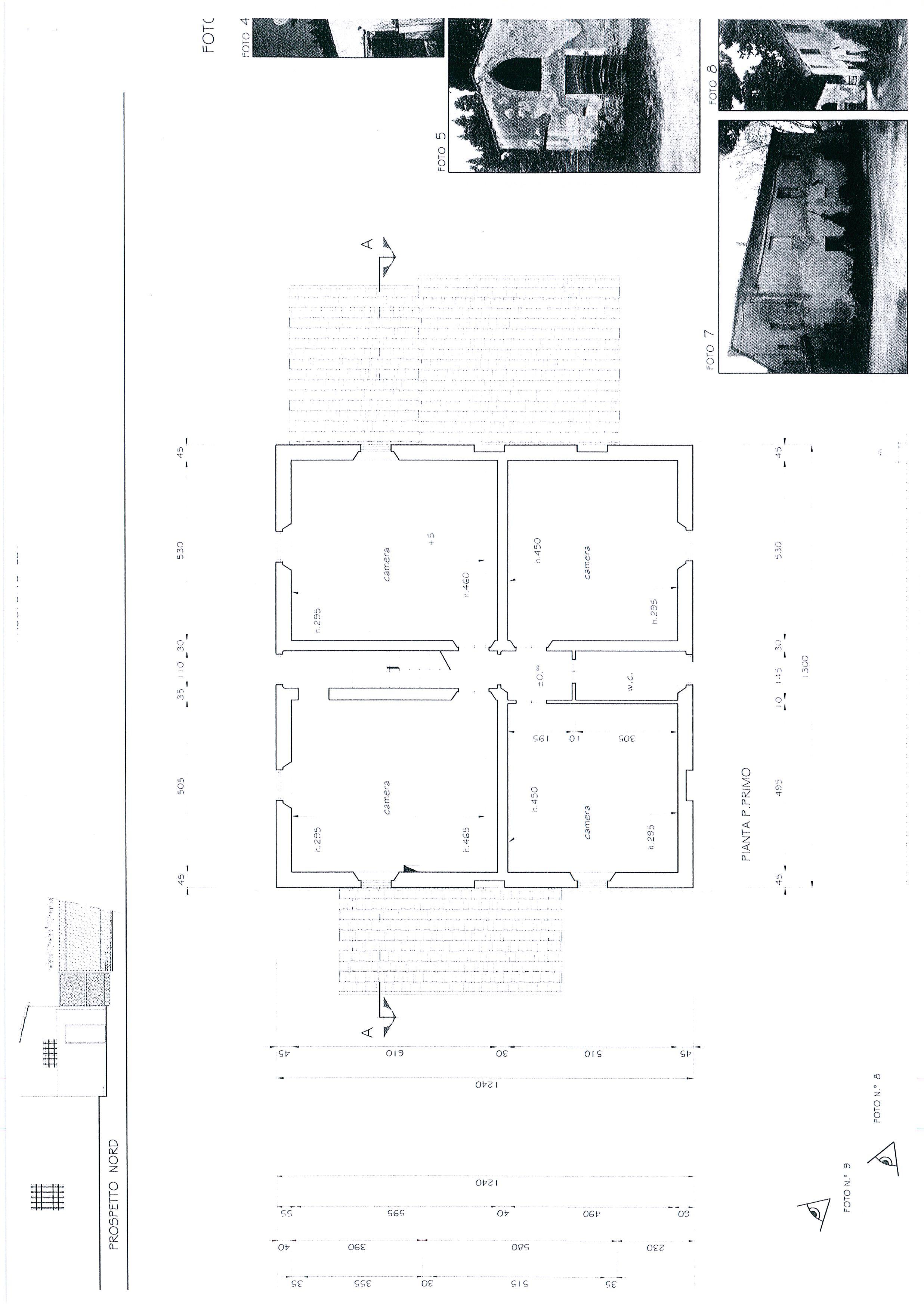 Planimetria 3/7 per rif. 1328a