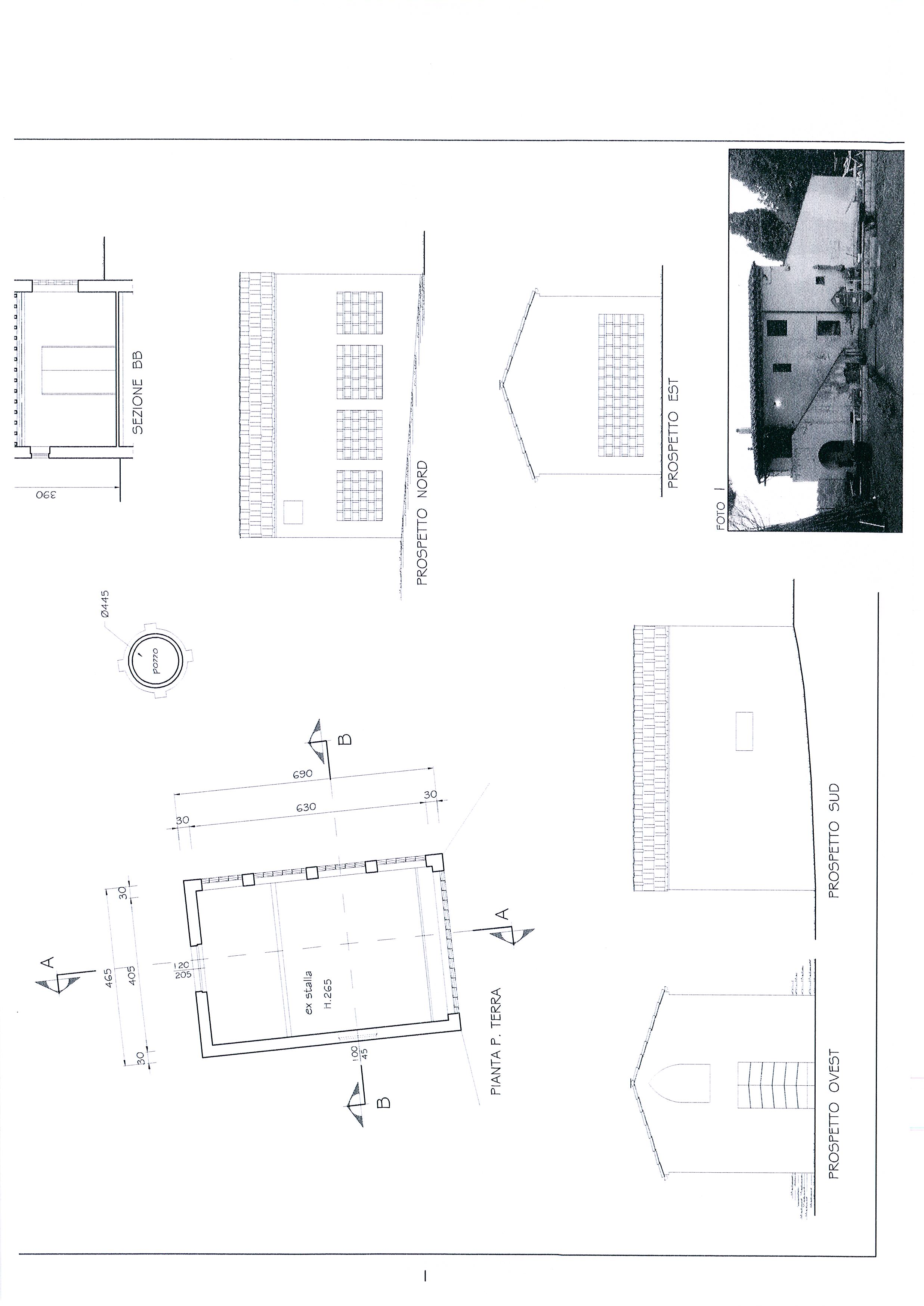 Planimetria 5/7 per rif. 1328a