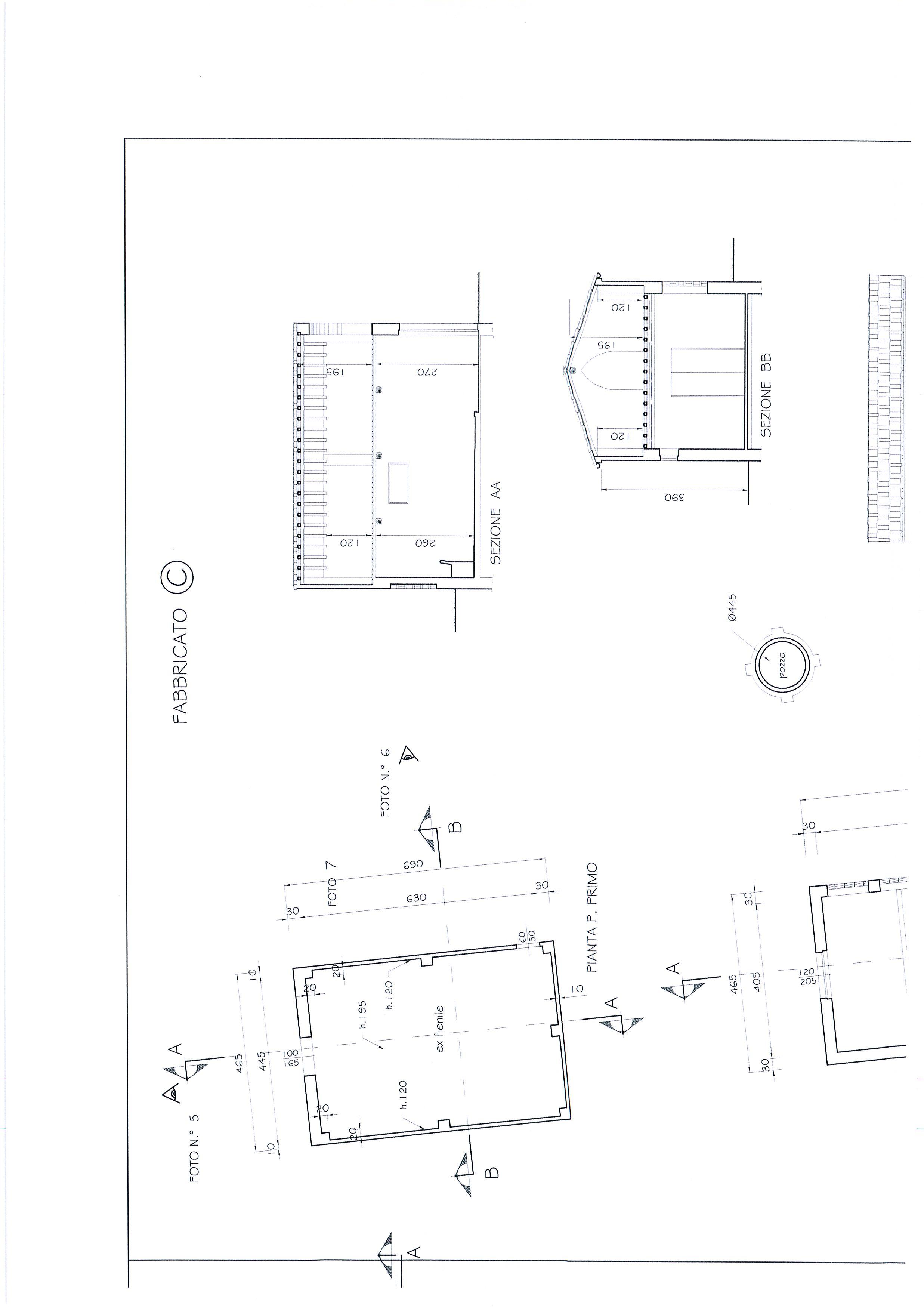 Planimetria 6/7 per rif. 1328a