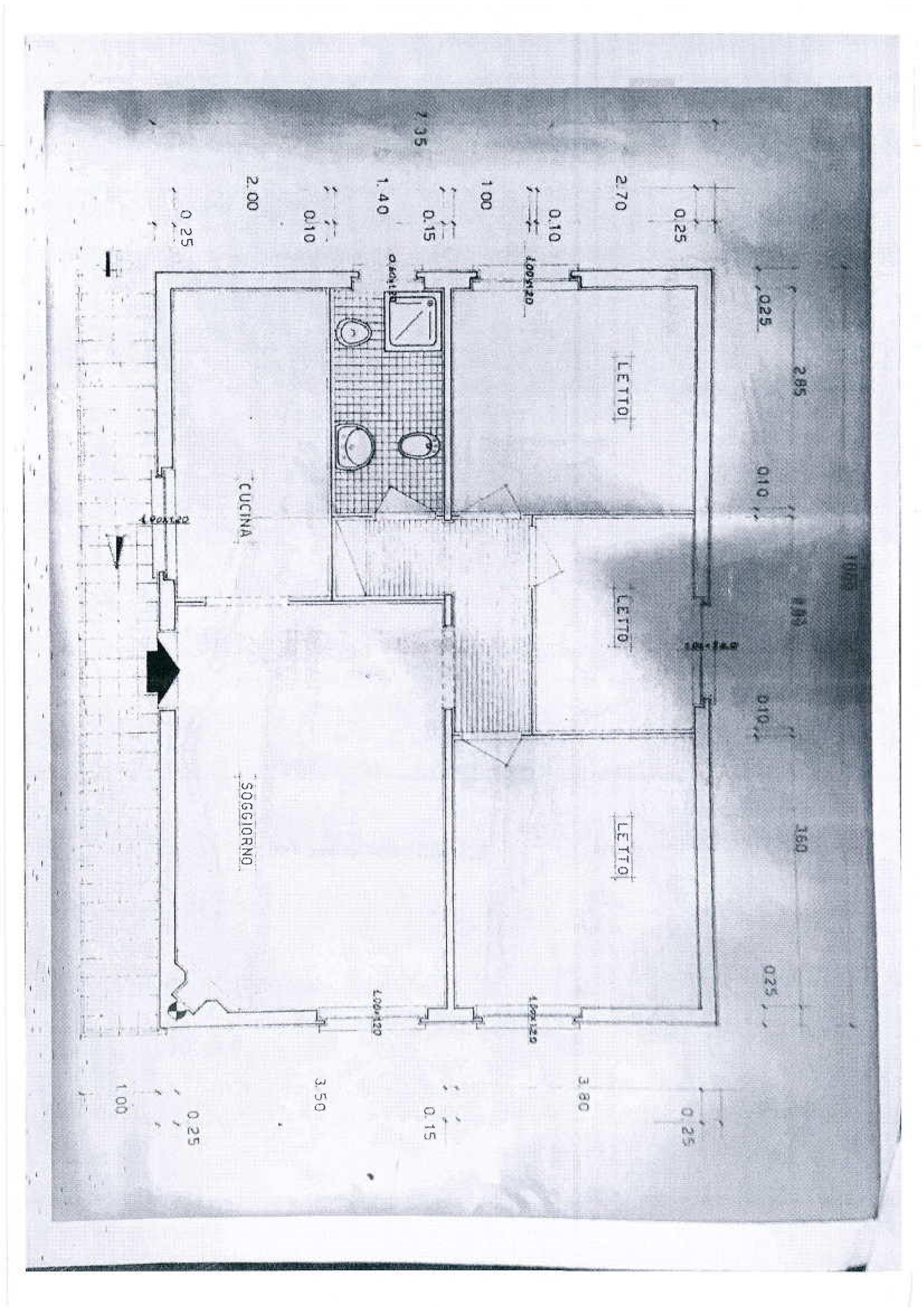 Planimetria /2 per rif. 1734a
