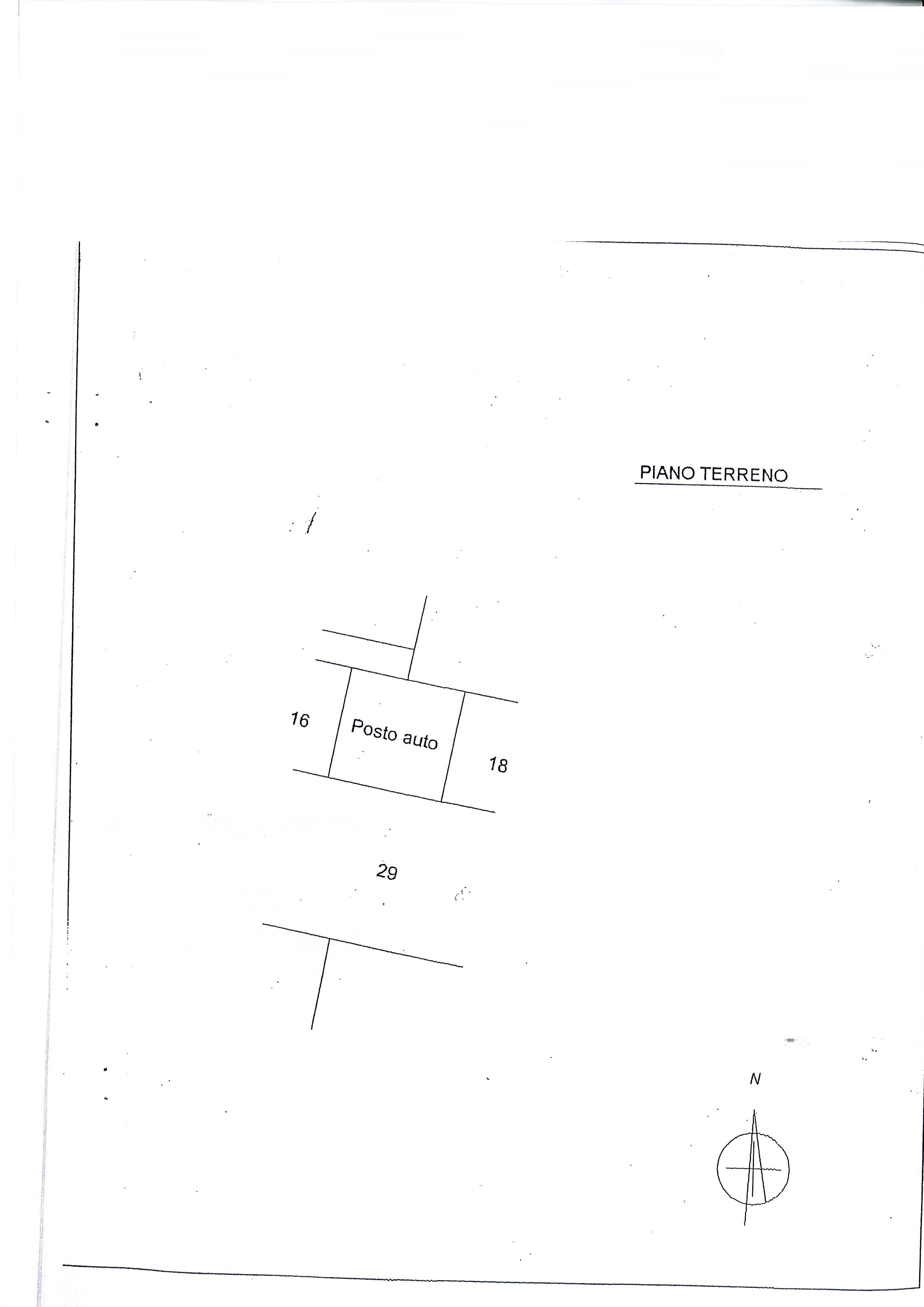 Planimetria 1/2 per rif. 1736a