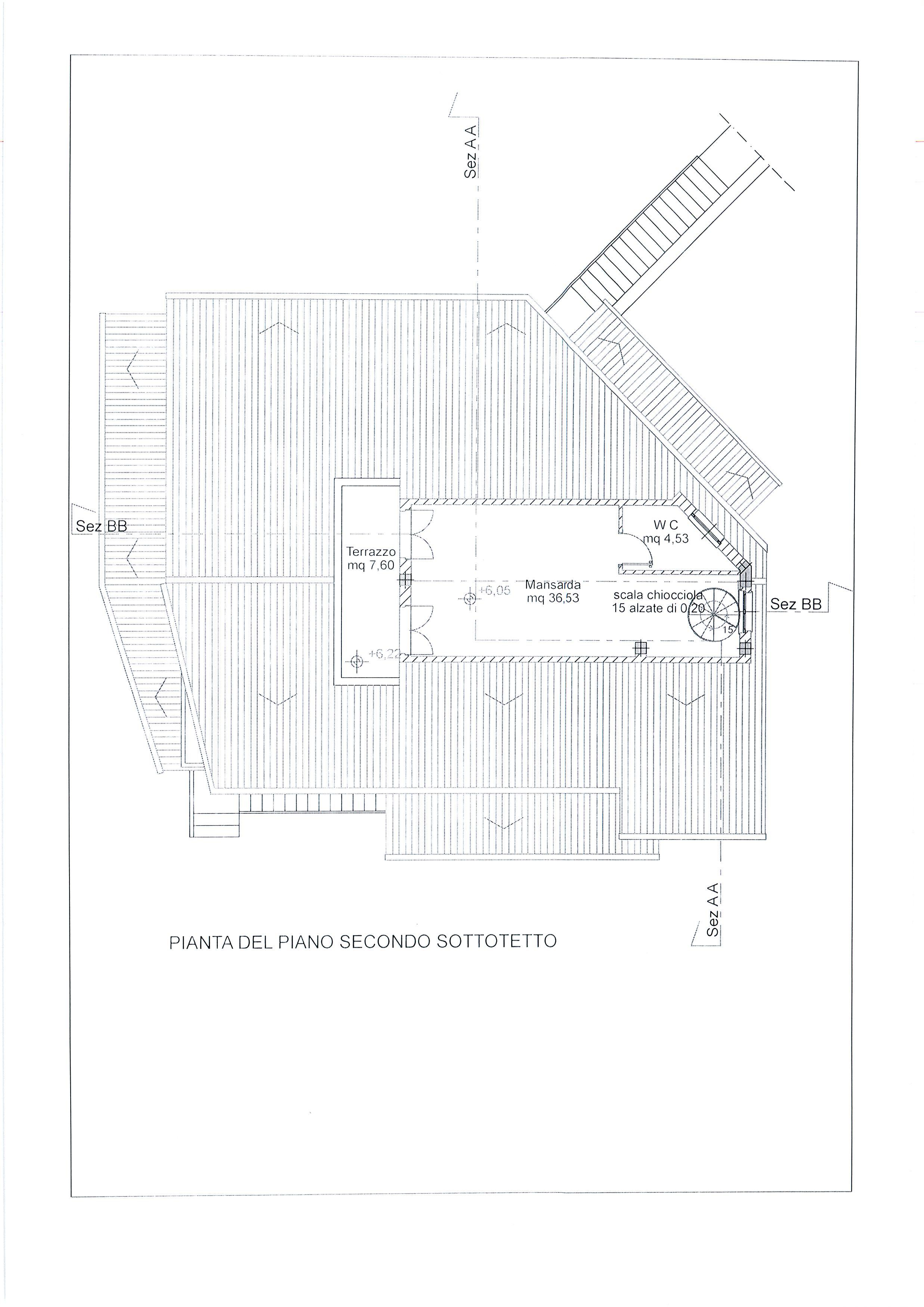 Planimetria 4/4 per rif. 1738a