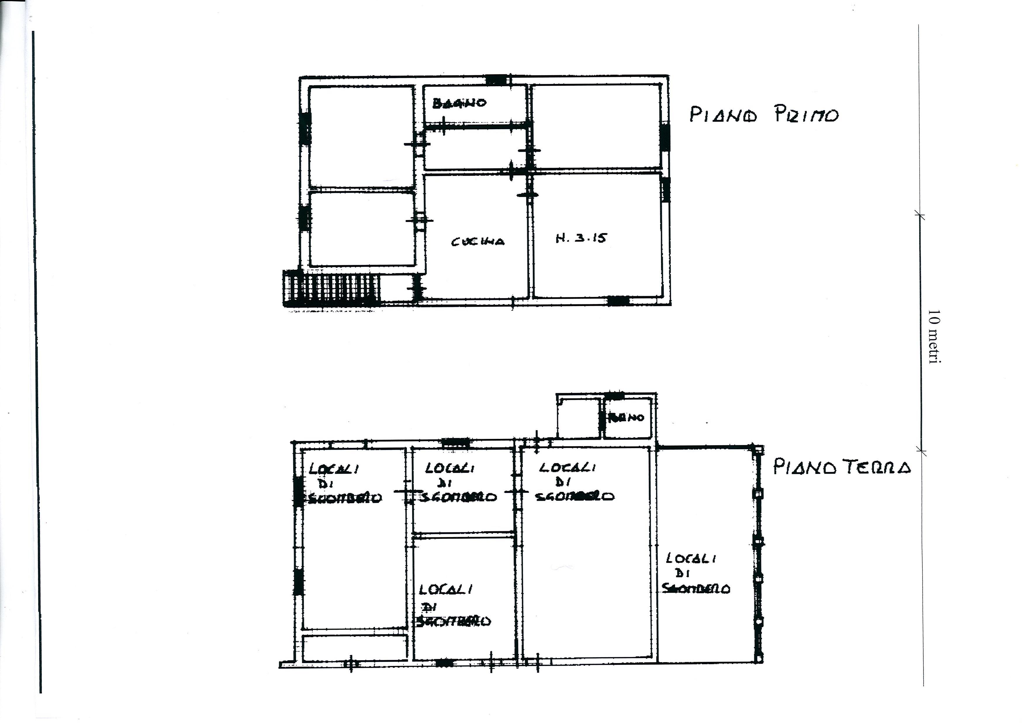 Planimetria /1 per rif. 1757a