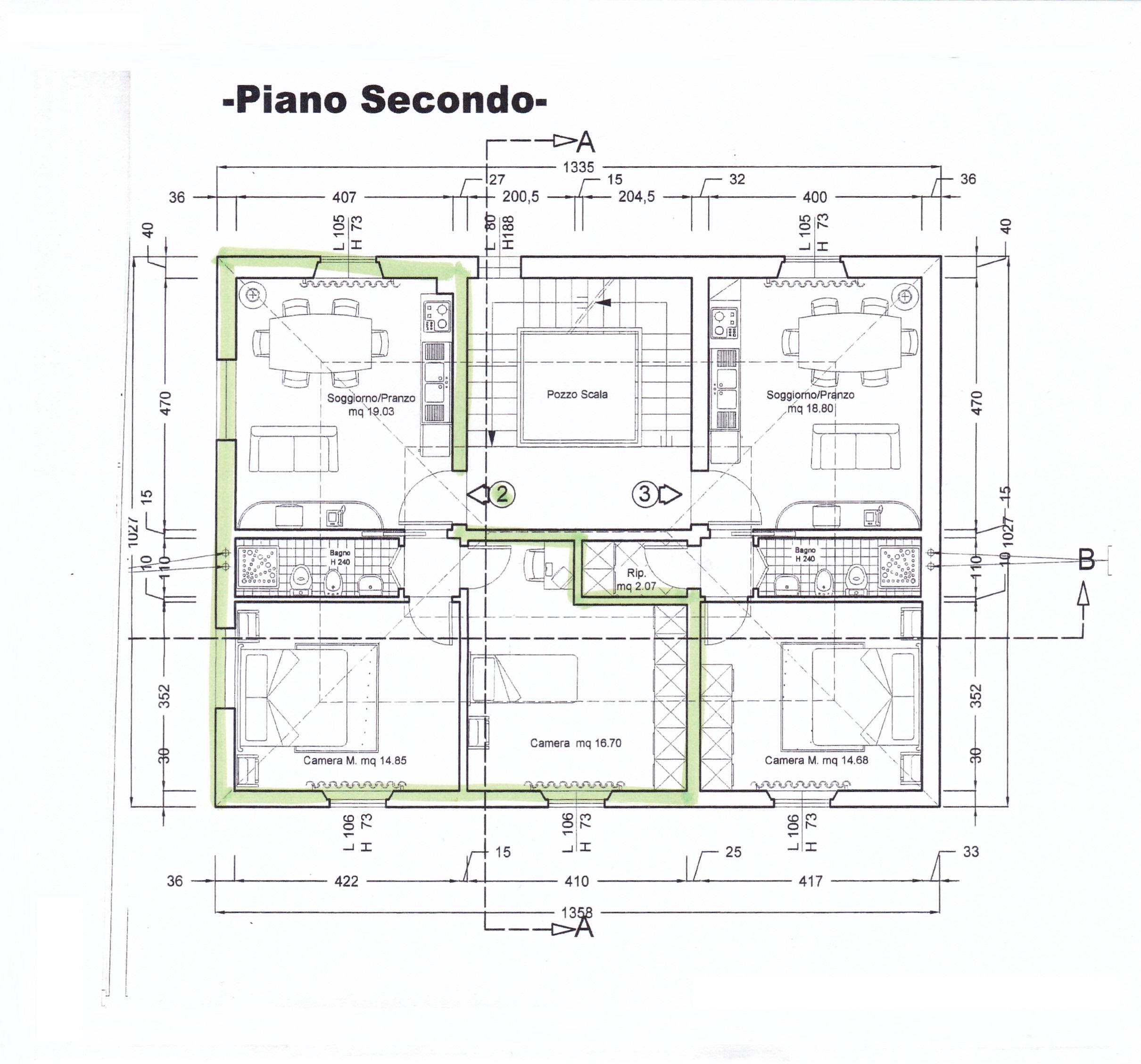Planimetria /1 per rif. Z111