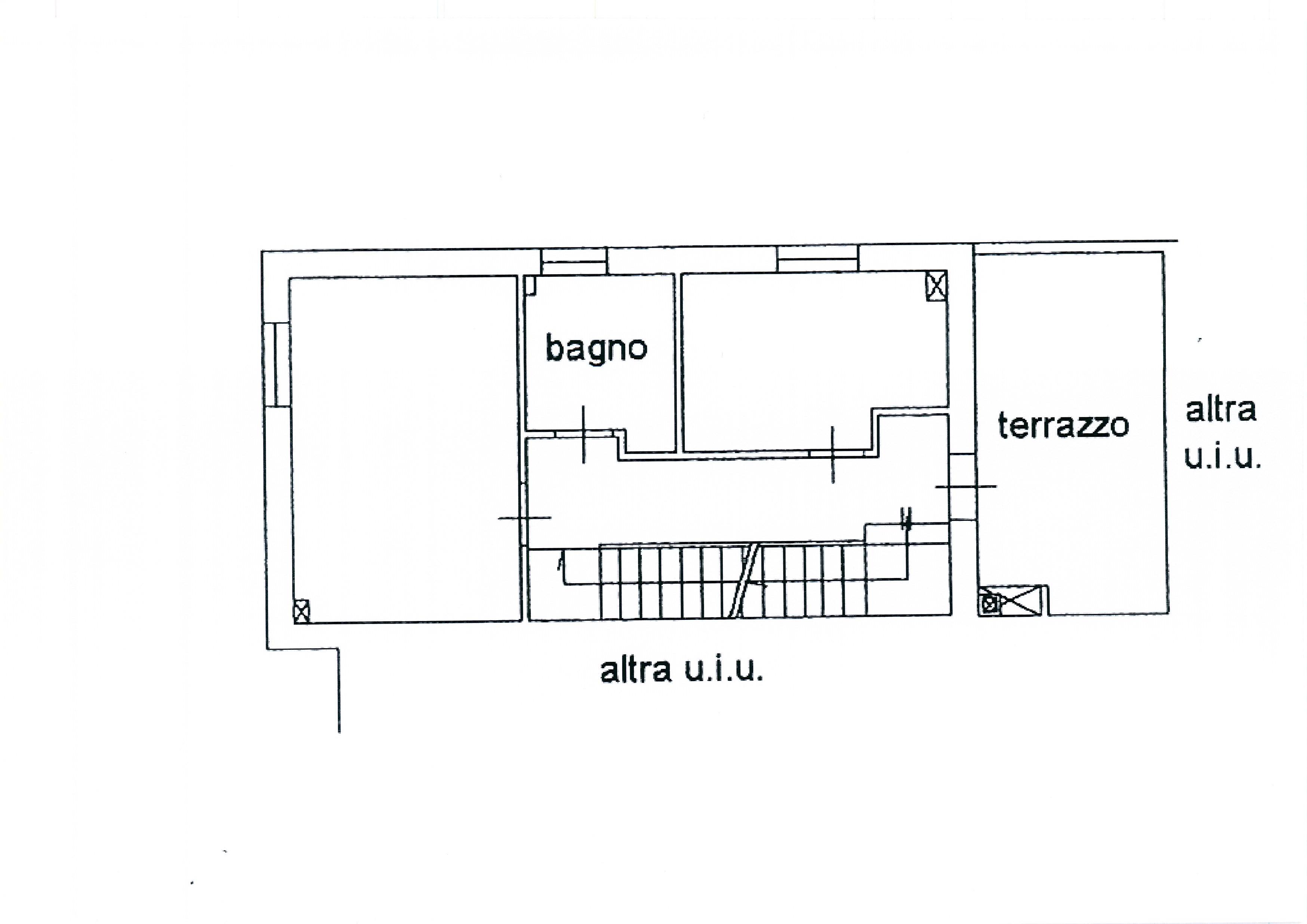 Planimetria 3/4 per rif. 1775a