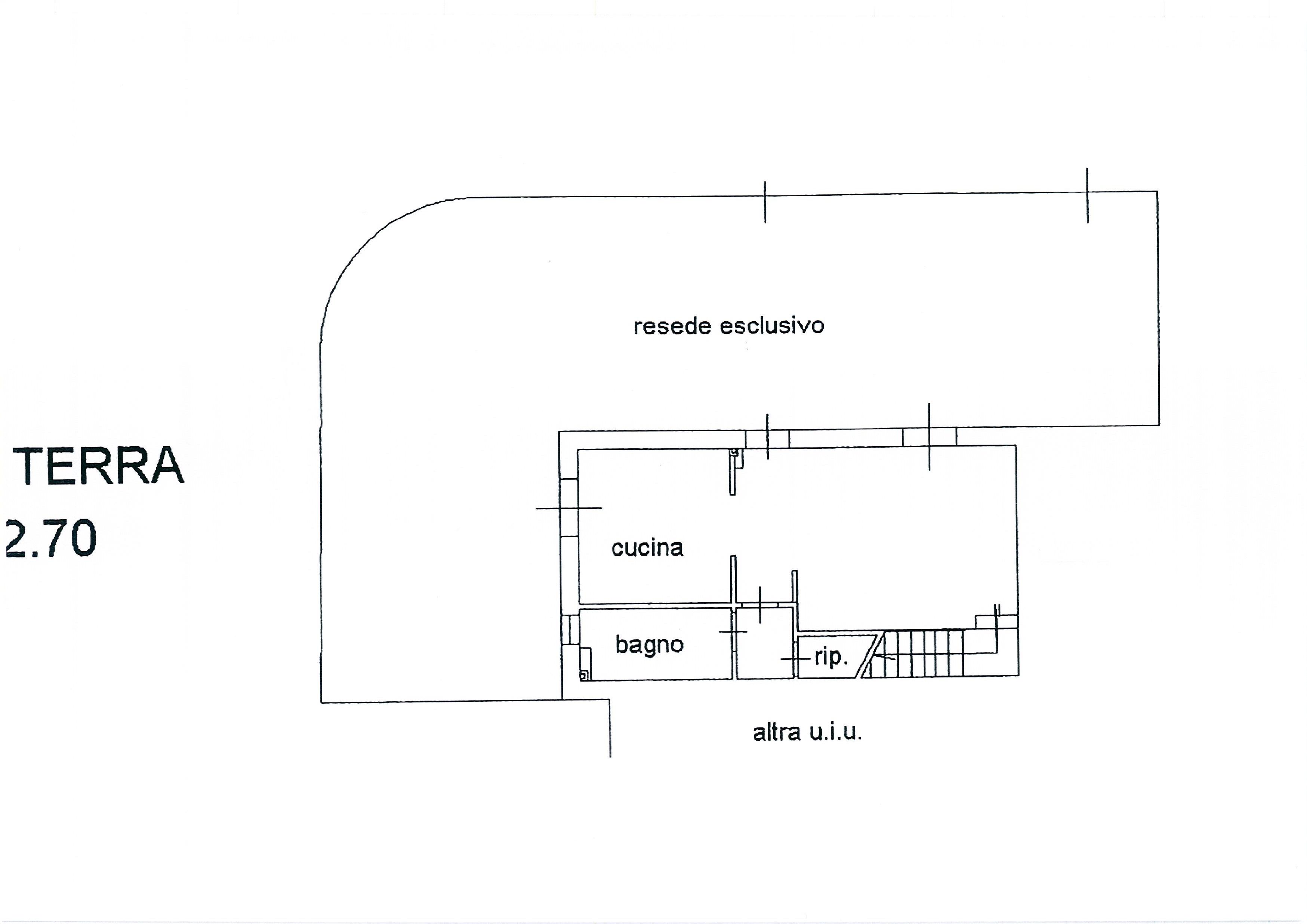 Planimetria 2/4 per rif. 1775a
