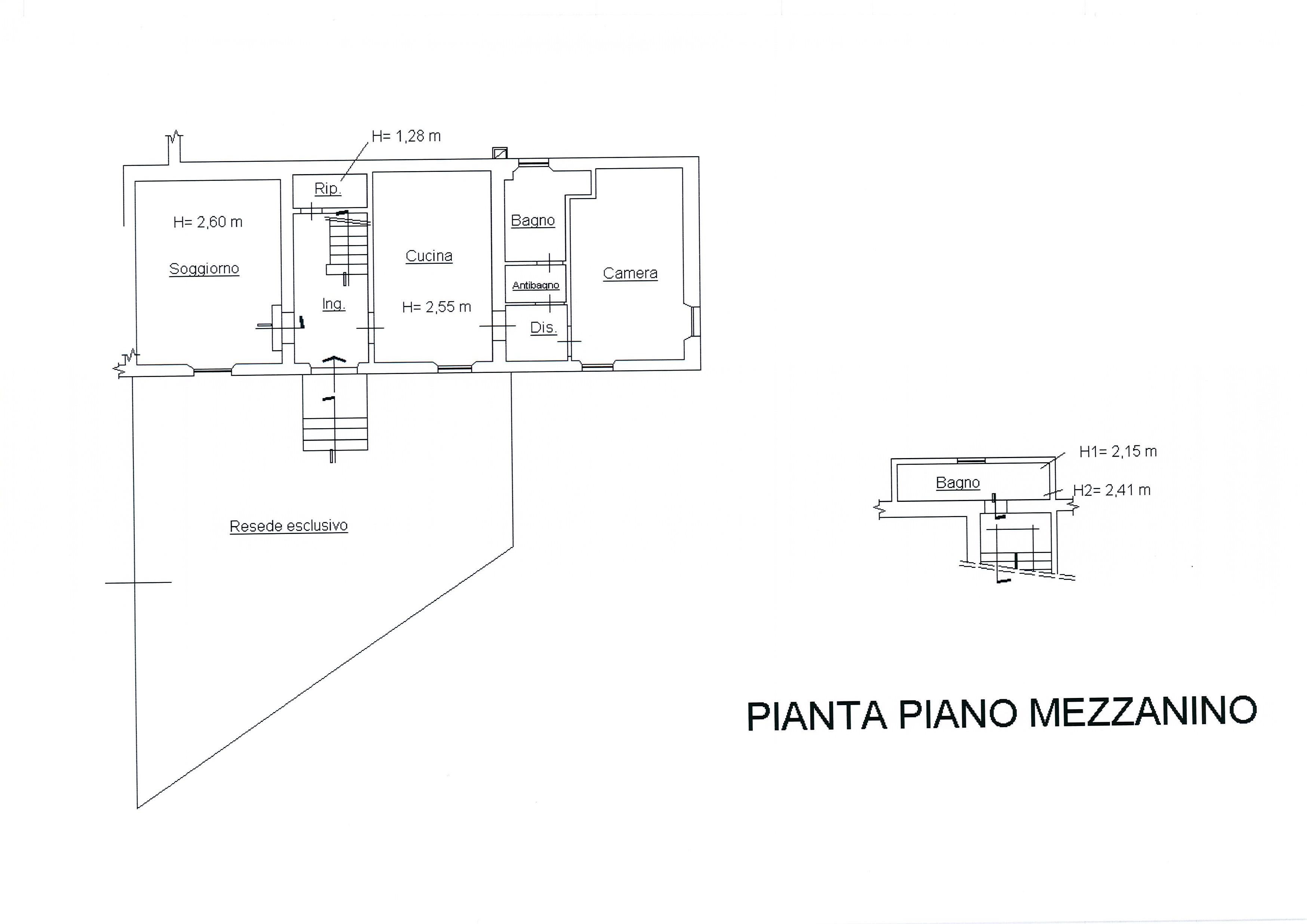Planimetria /4 per rif. 1752a