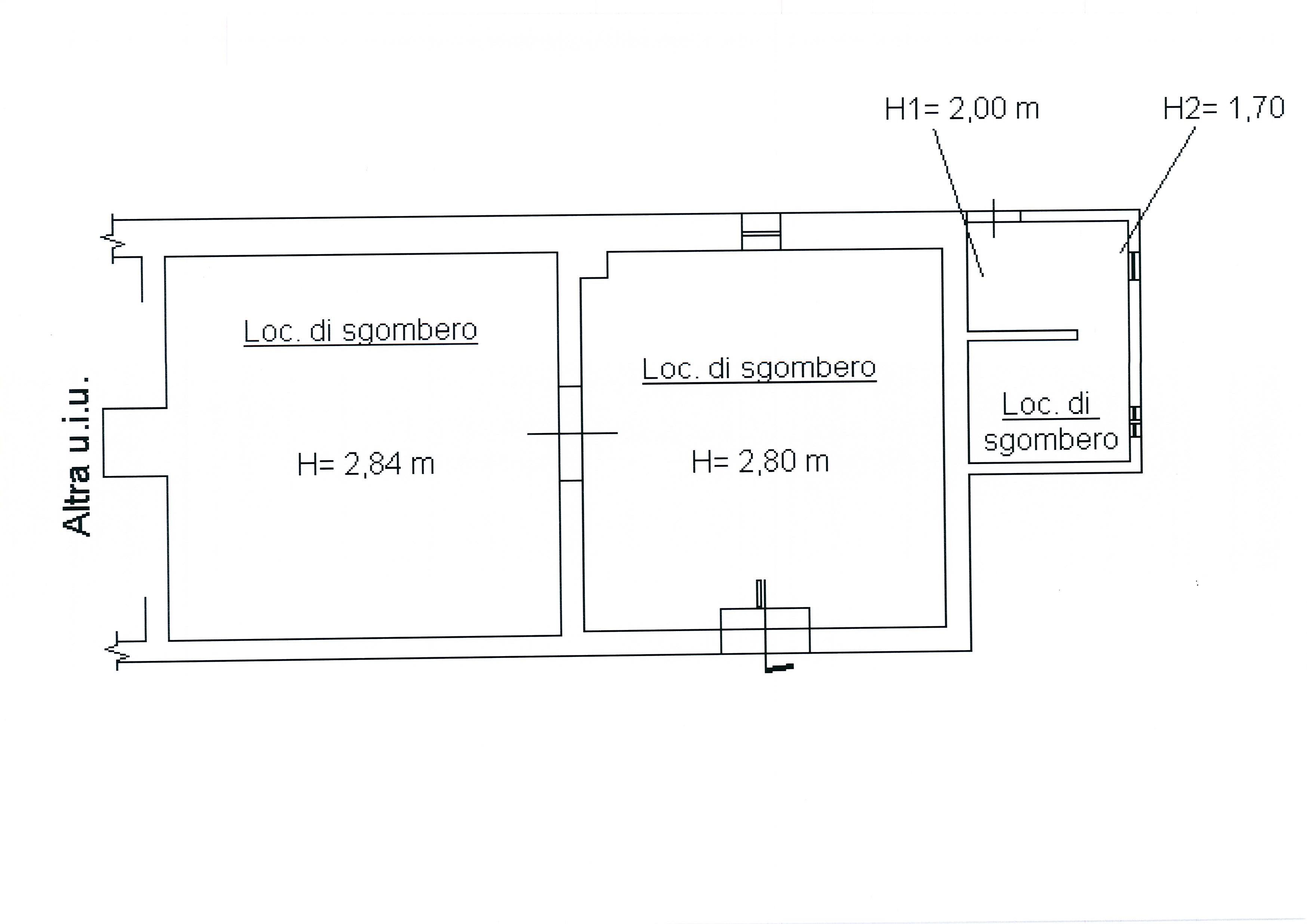 Planimetria 2/4 per rif. 1752a