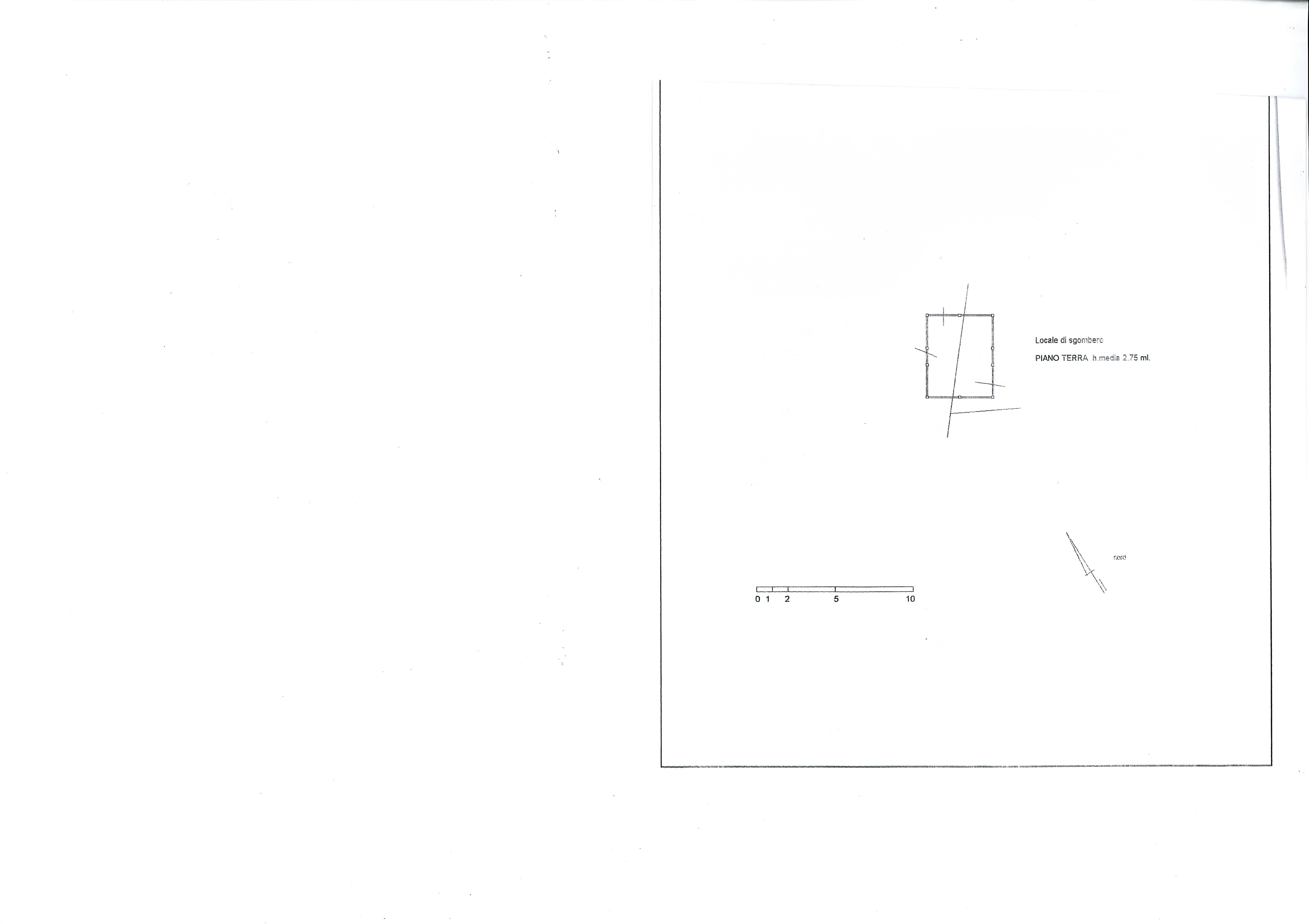 Planimetria 2/4 per rif. 1810a