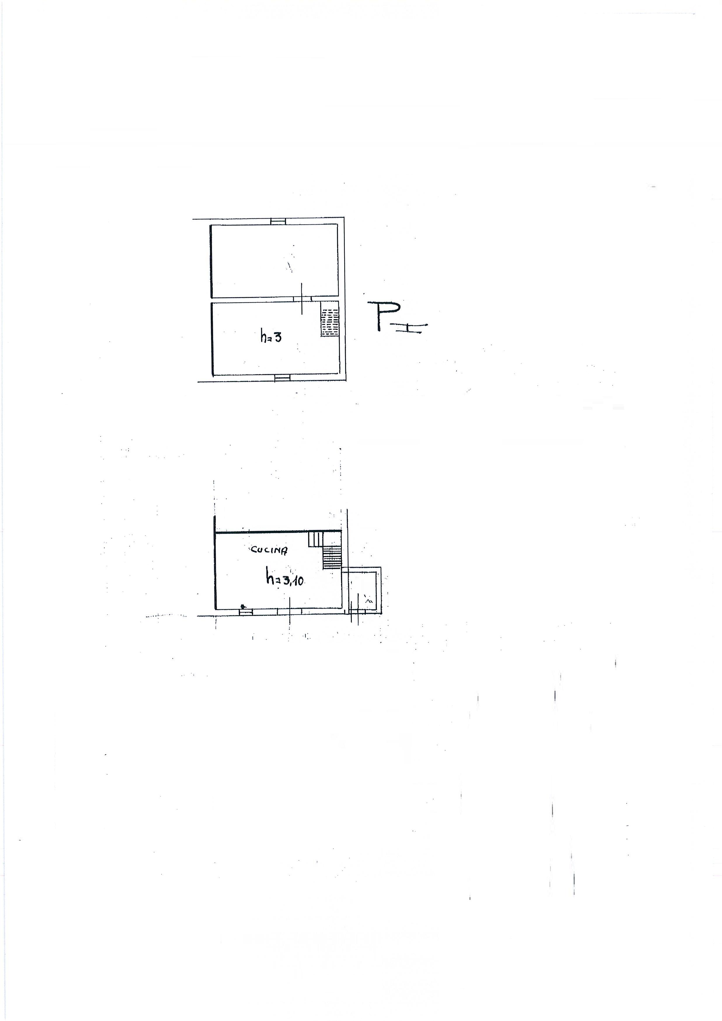 Planimetria 3/4 per rif. 1810a