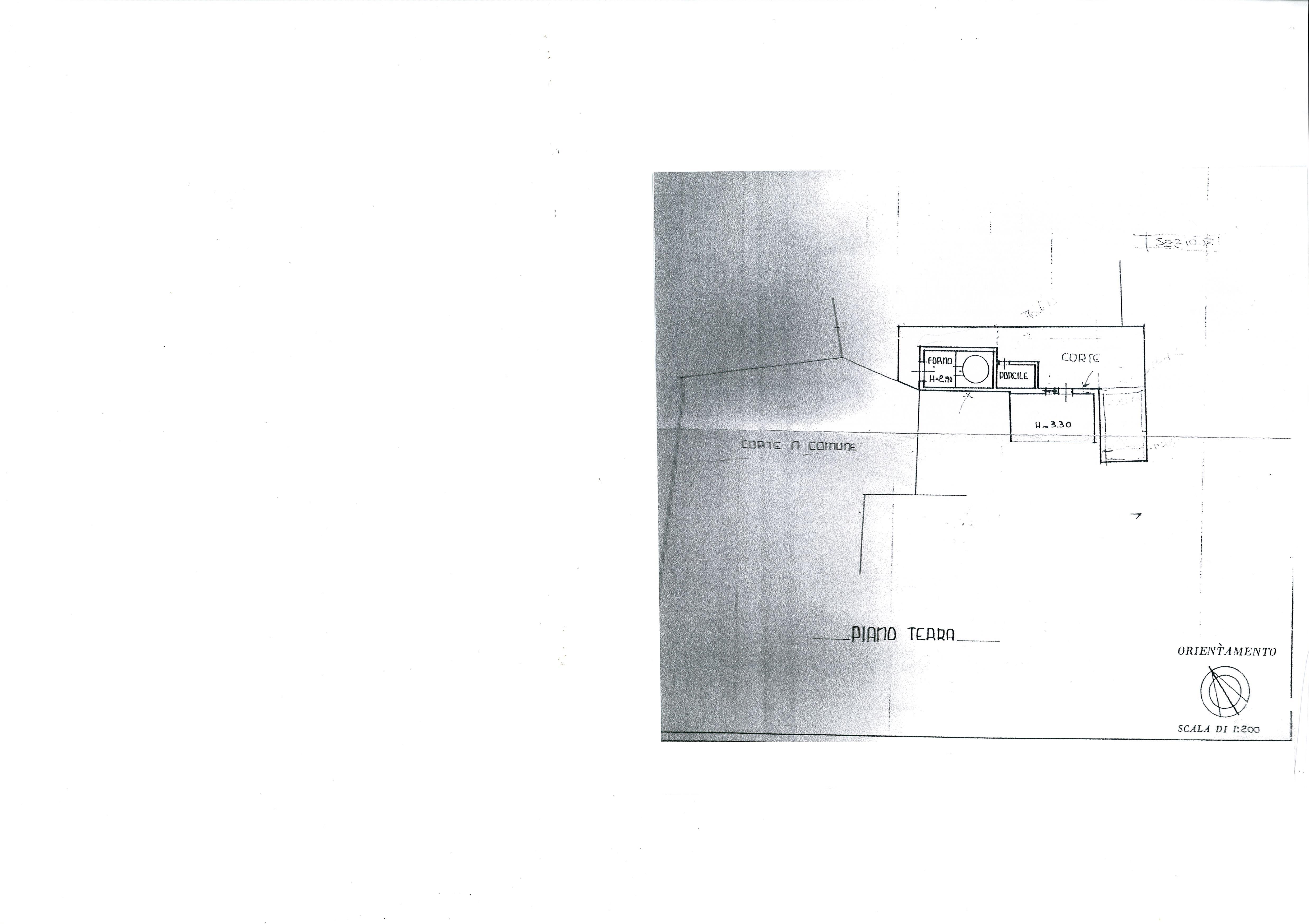 Planimetria /4 per rif. 1810a