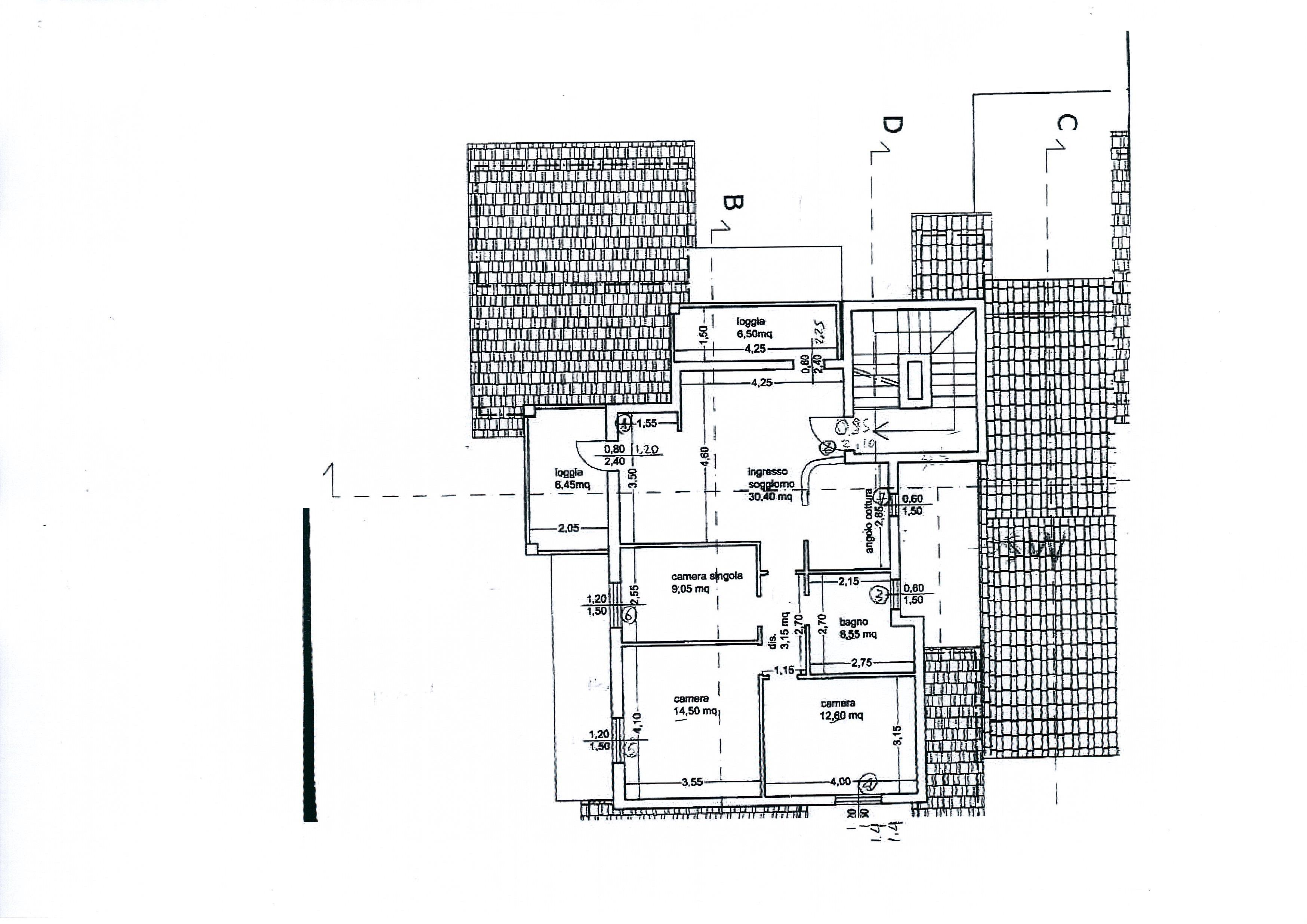 Planimetria /1 per rif. 1831a
