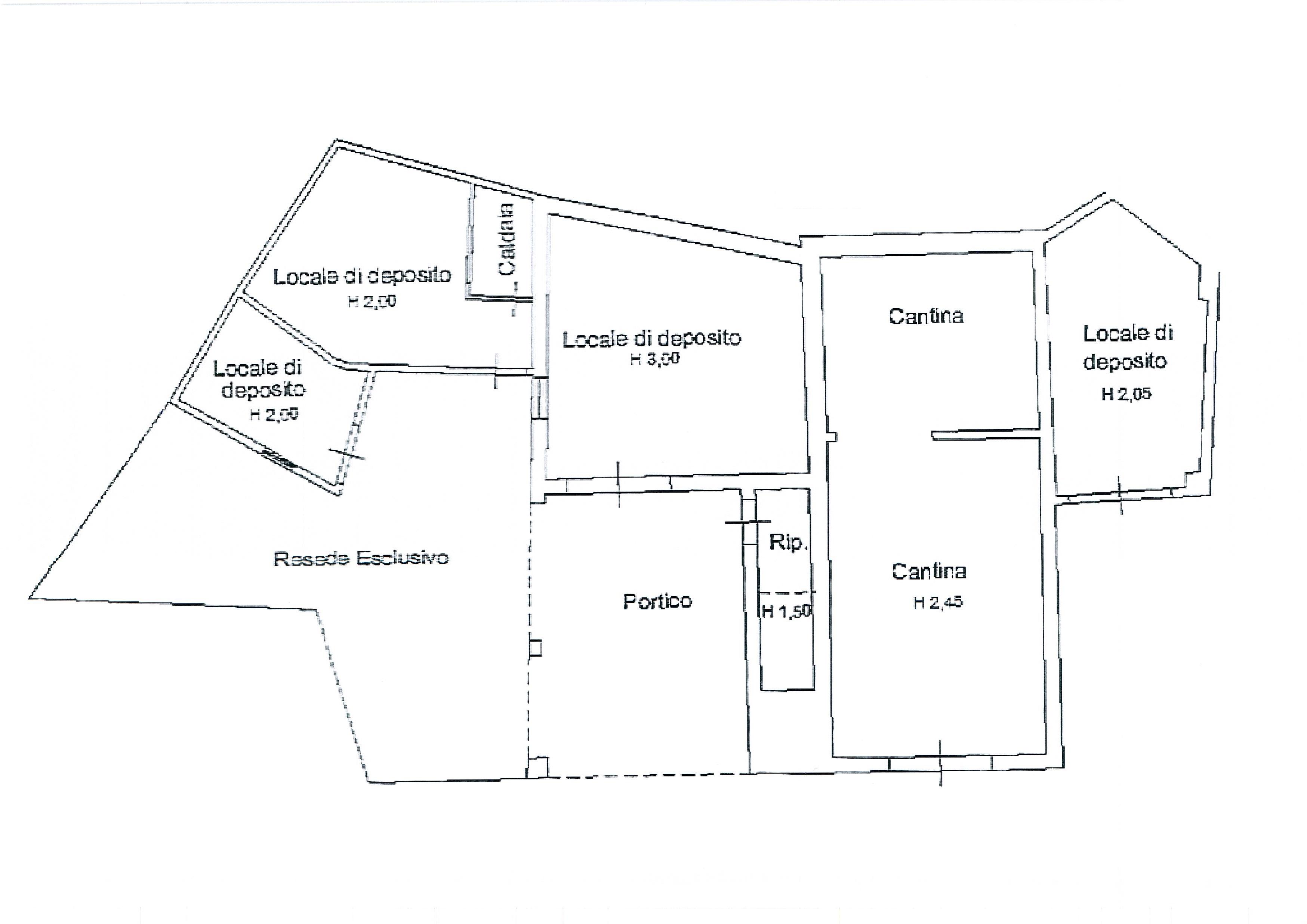 Planimetria /2 per rif. 1849a