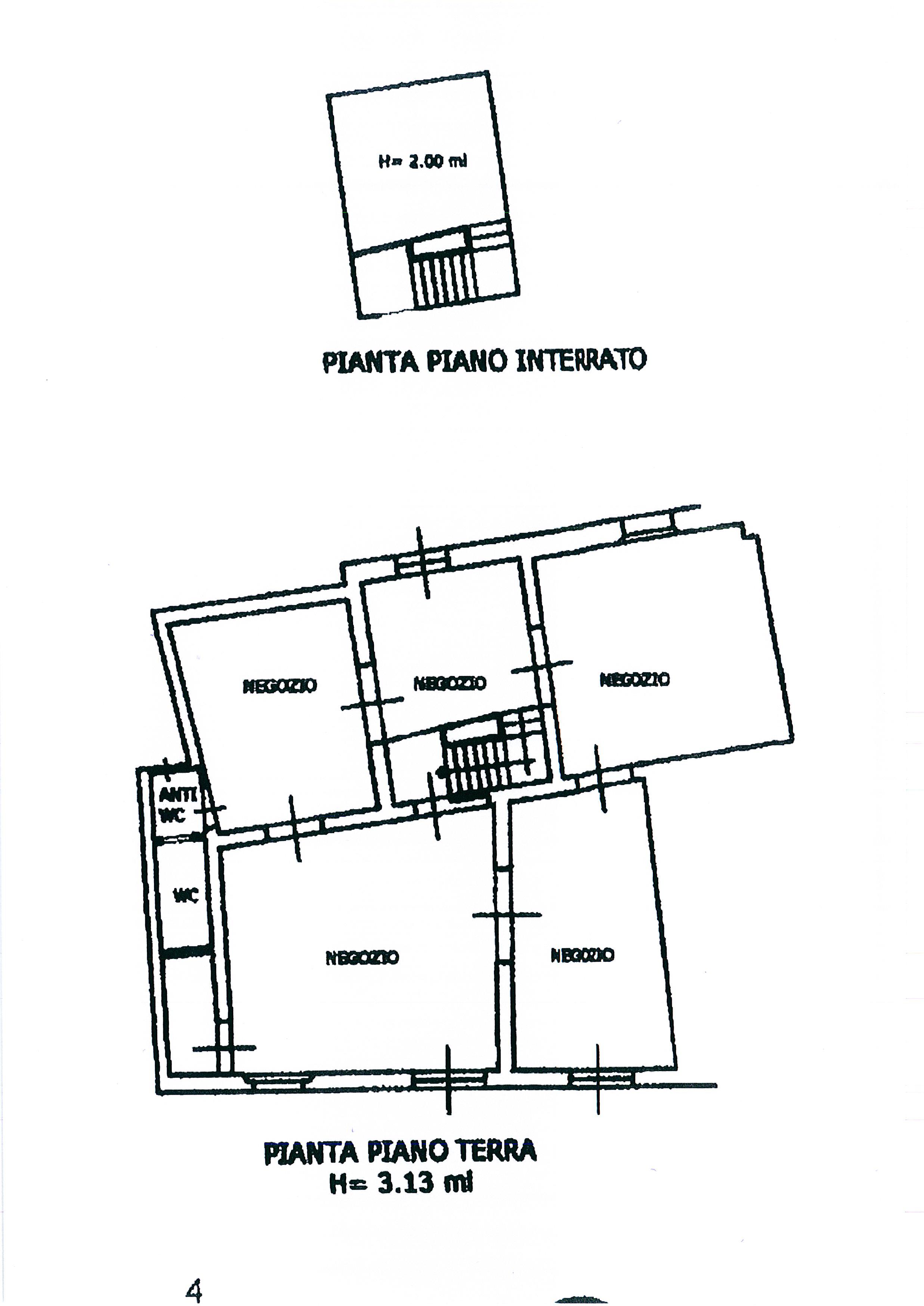 Planimetria 2/3 per rif. 1867a