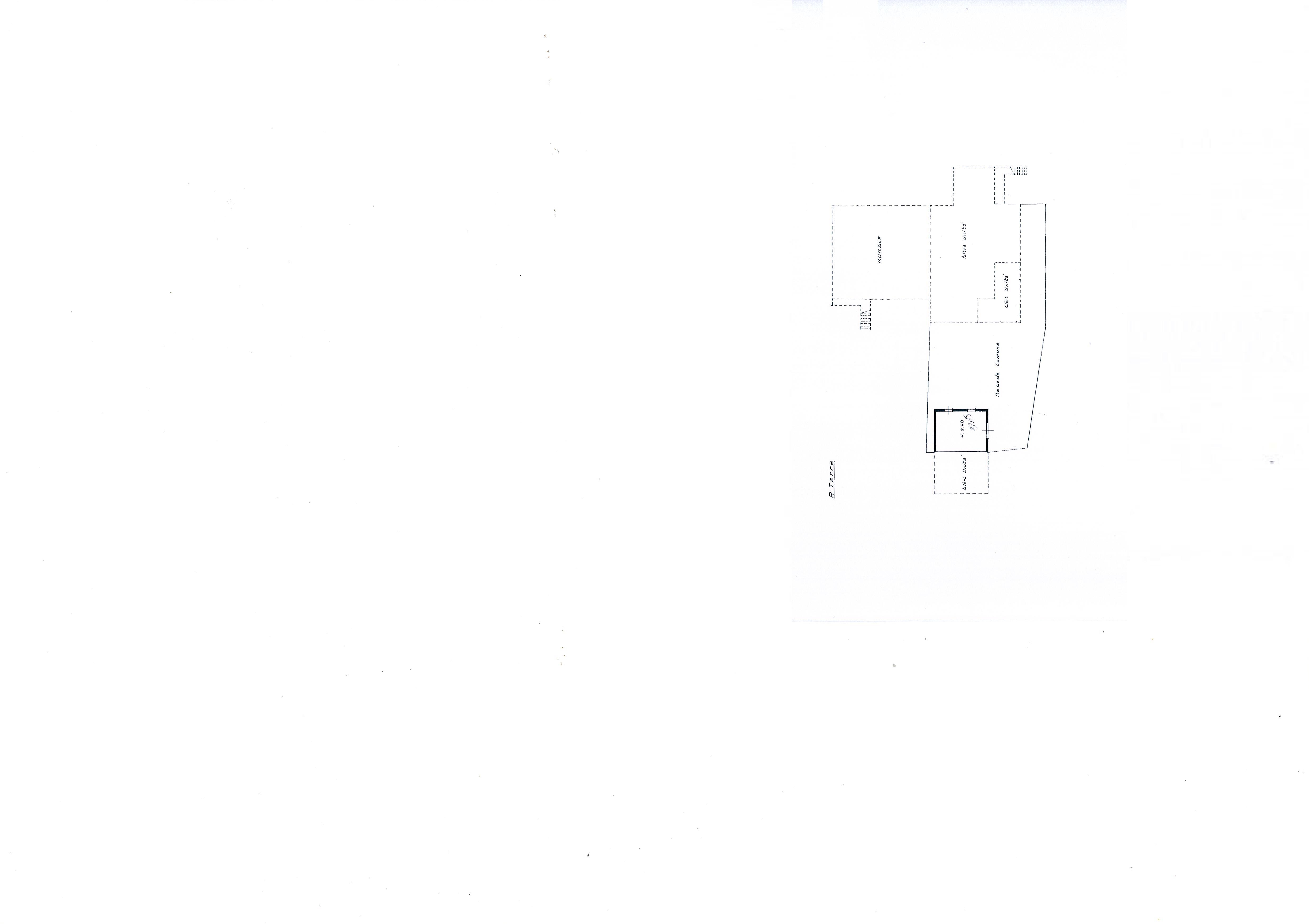 Planimetria 1/2 per rif. 1881a