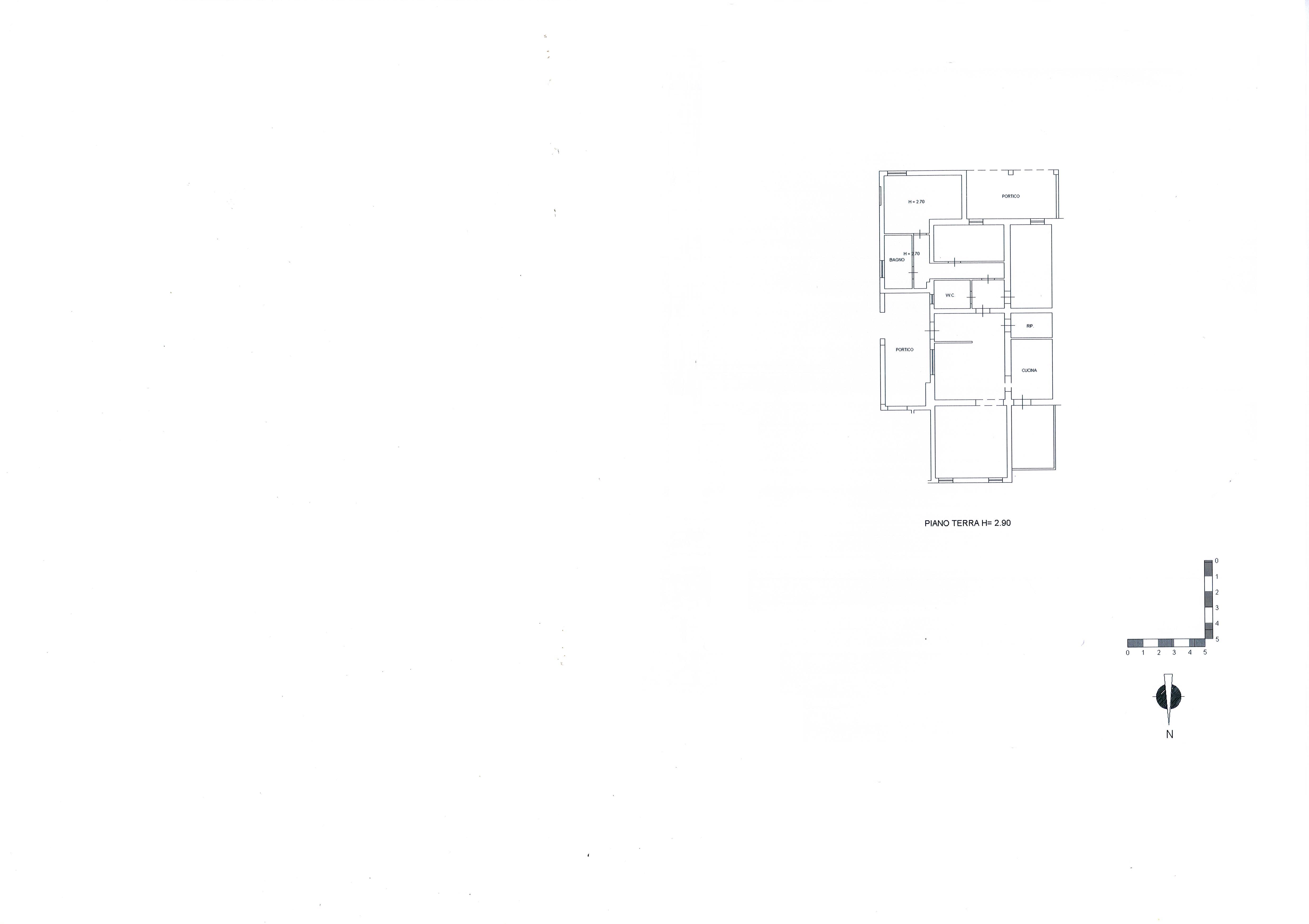 Planimetria /2 per rif. 1881a