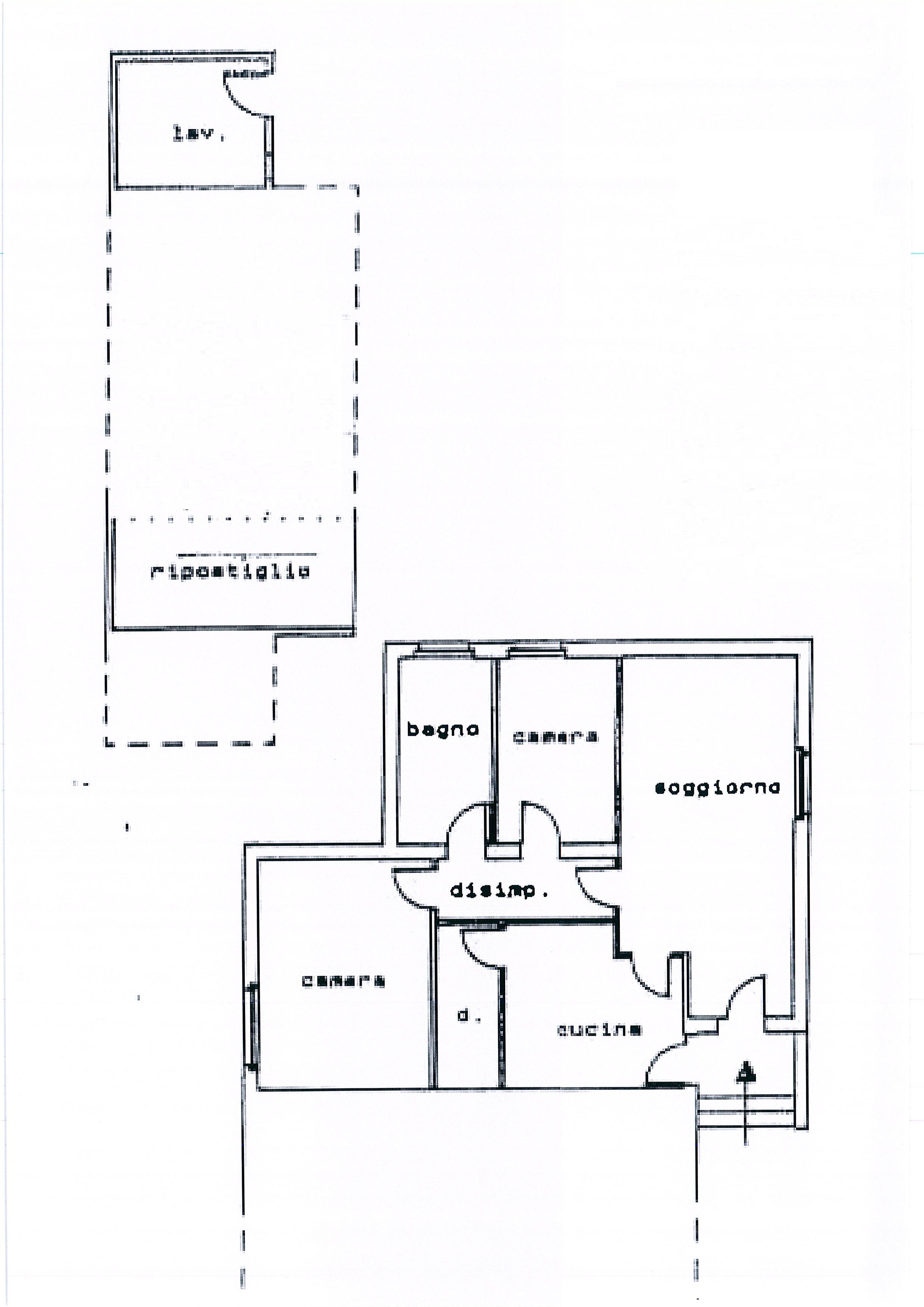 Planimetria /1 per rif. 1899a