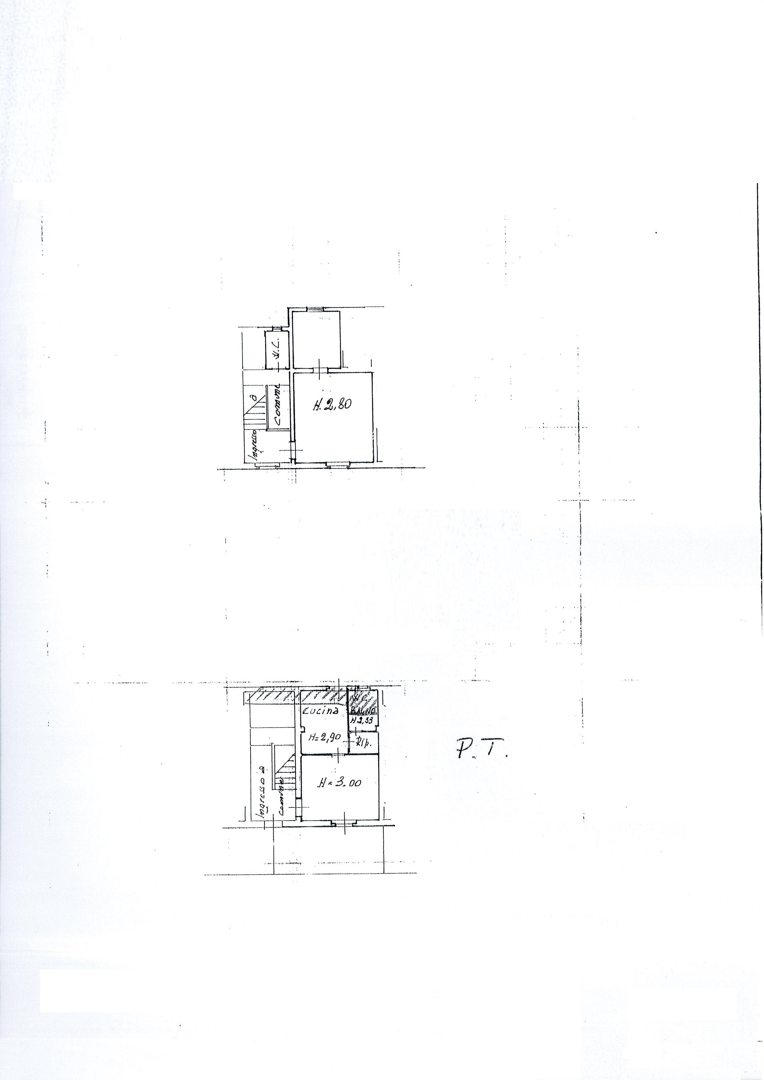 Planimetria 1/5 per rif. 1901a-ter