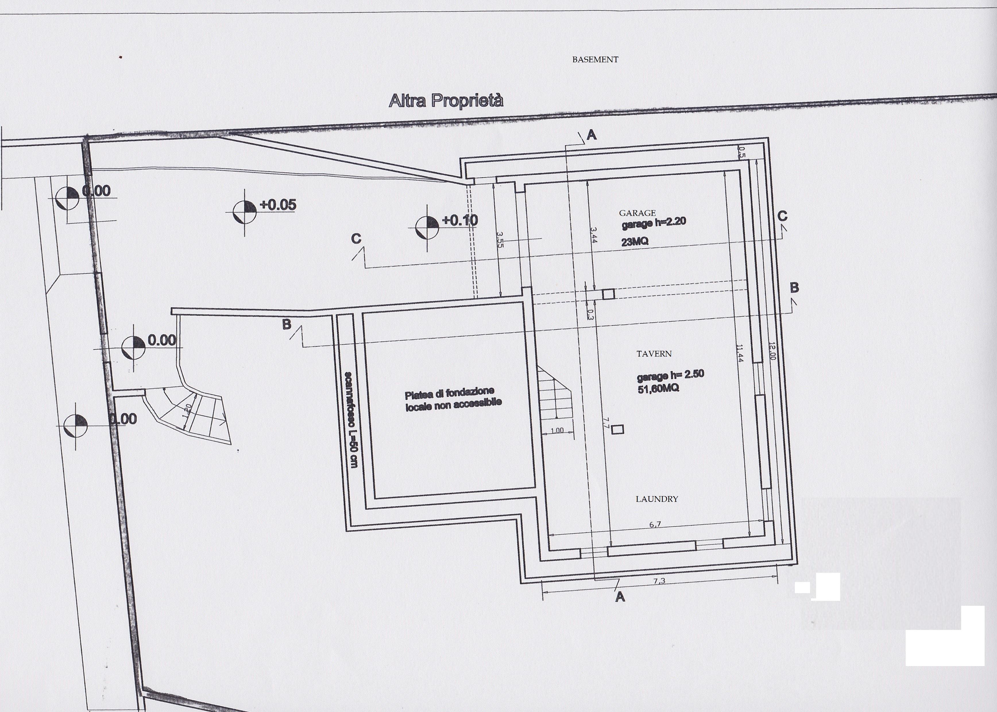 Planimetria 3/3 per rif. 2414a