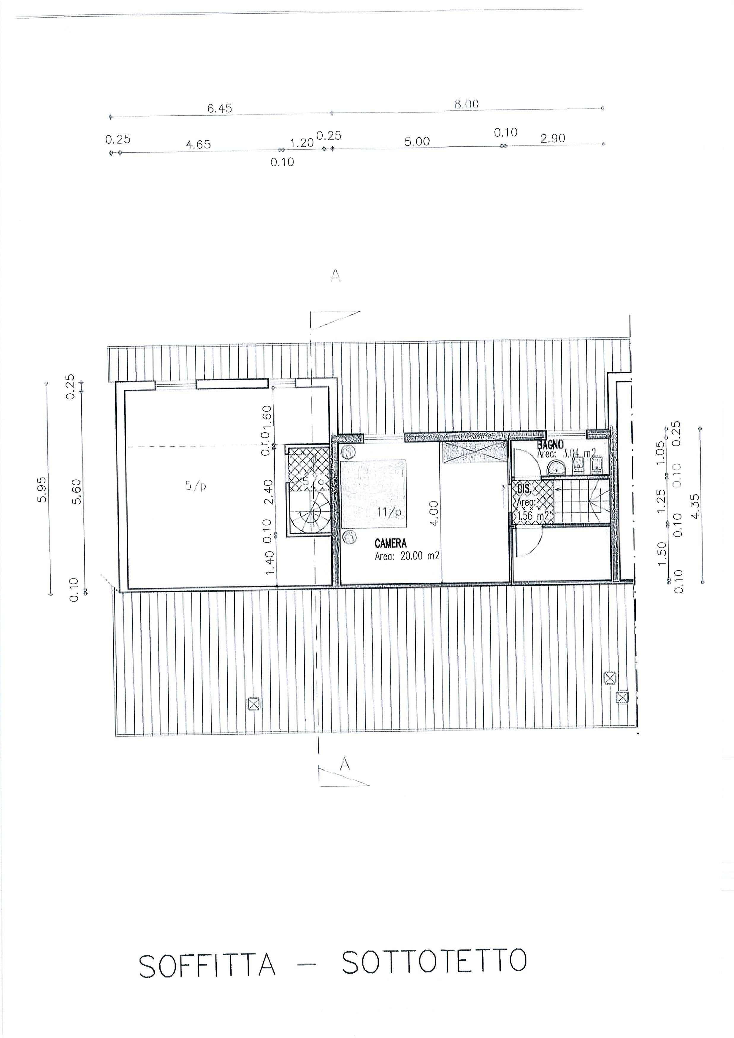 Planimetria /3 per rif. 1933a