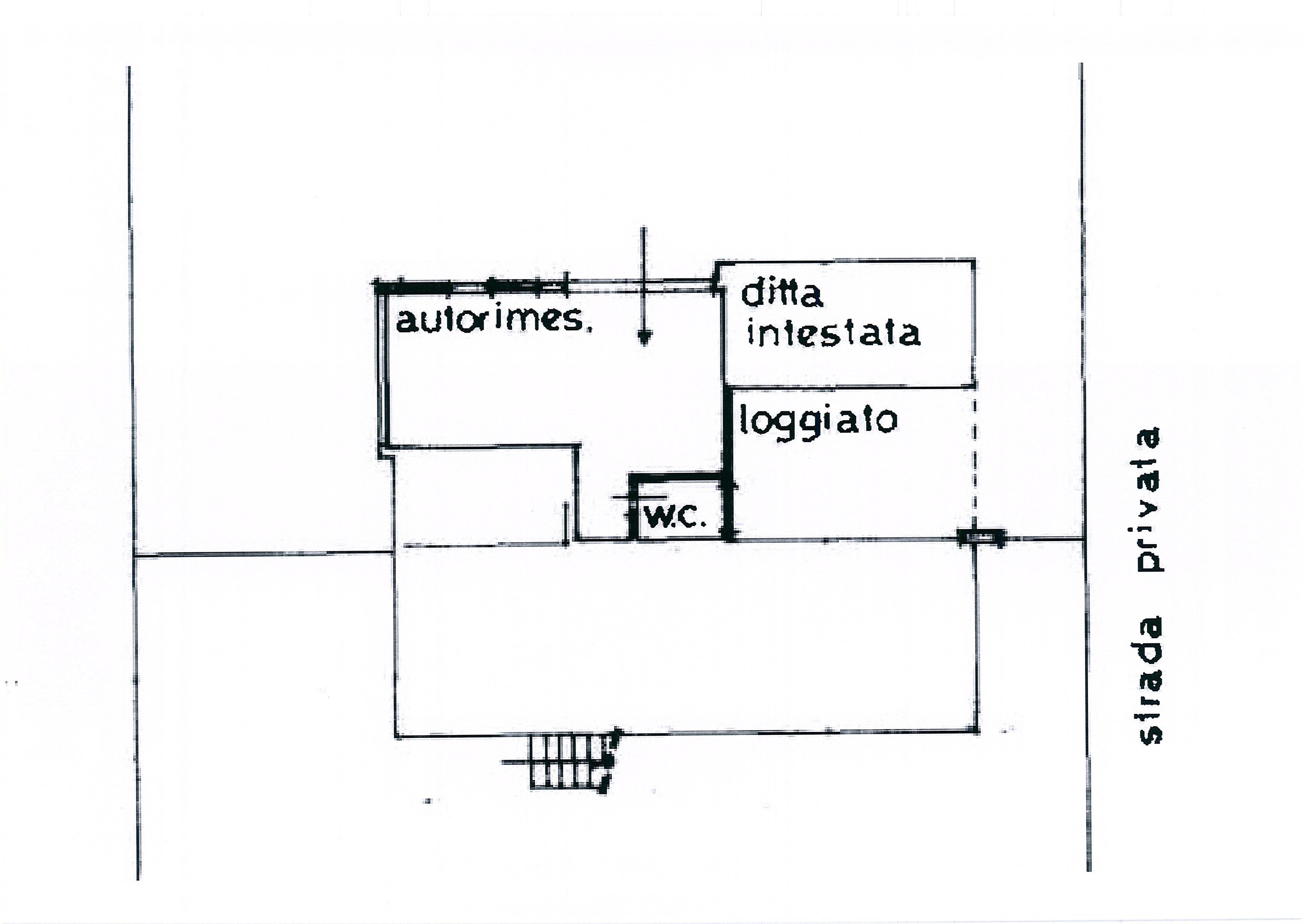 Planimetria /2 per rif. 1958a