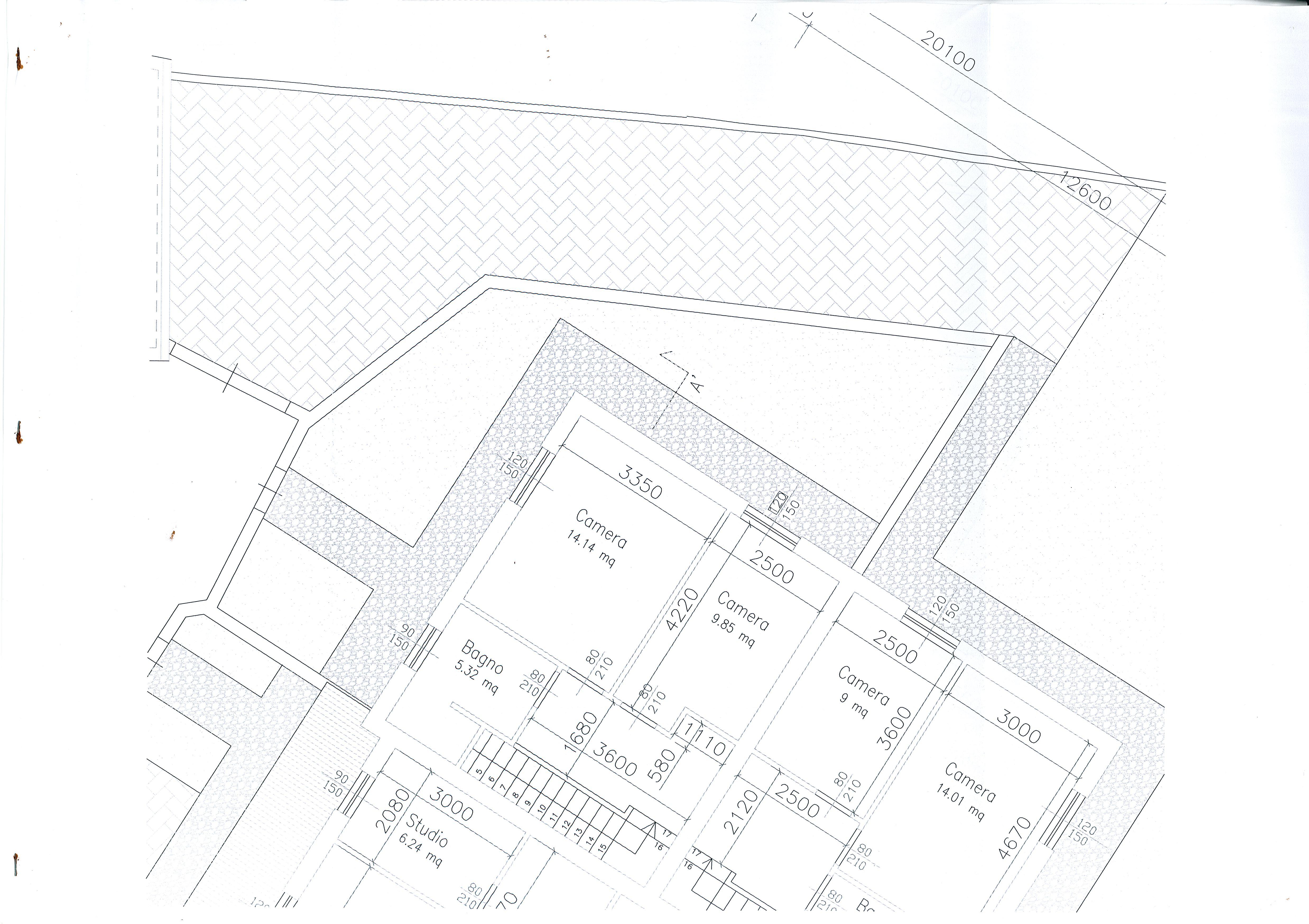 Planimetria /3 per rif. 1977a