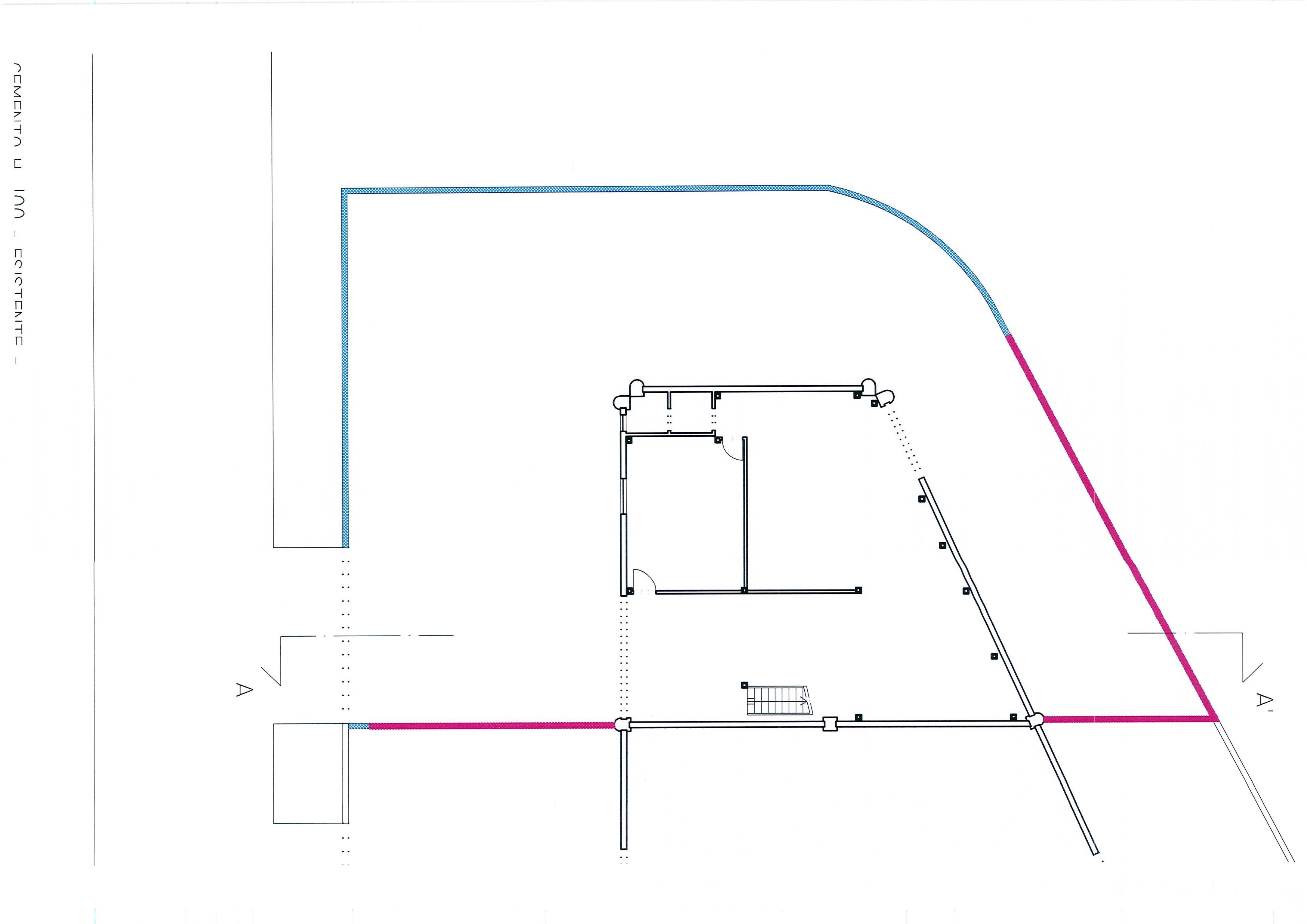 Planimetria 2/3 per rif. 1981a