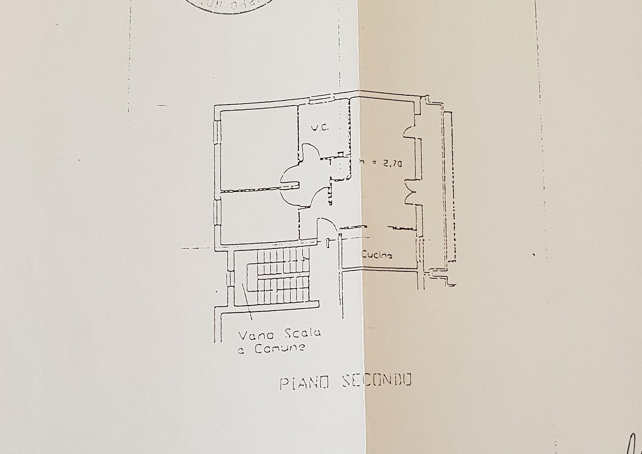 Planimetria /2 per rif. 1983a