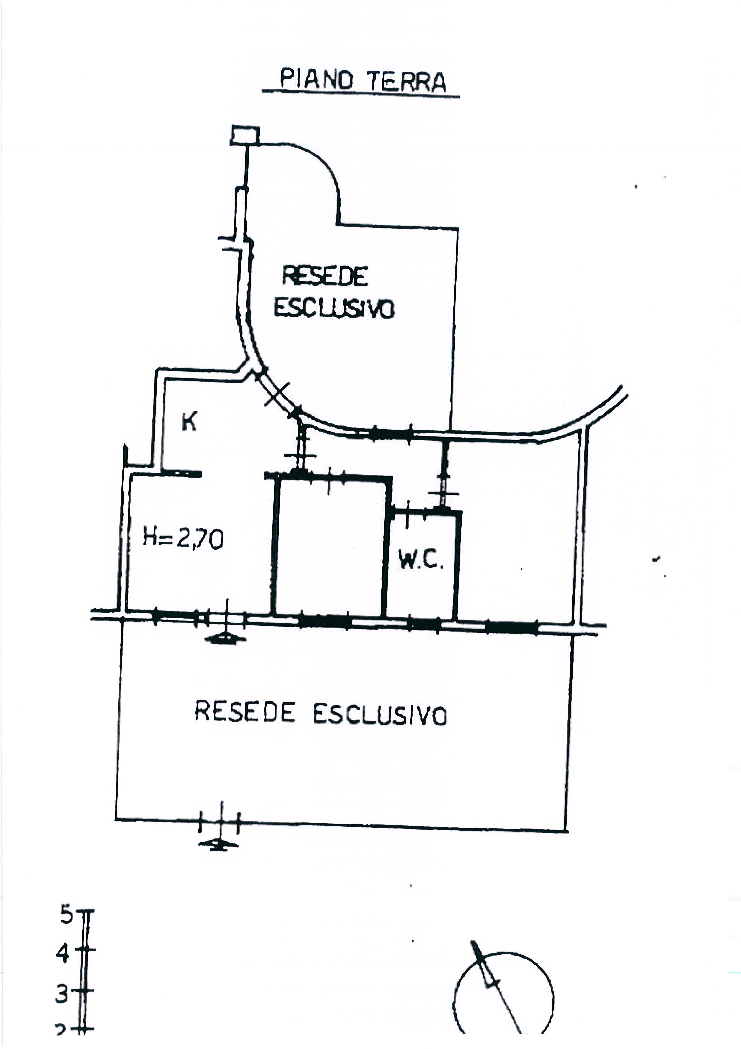 Planimetria /2 per rif. 1989a