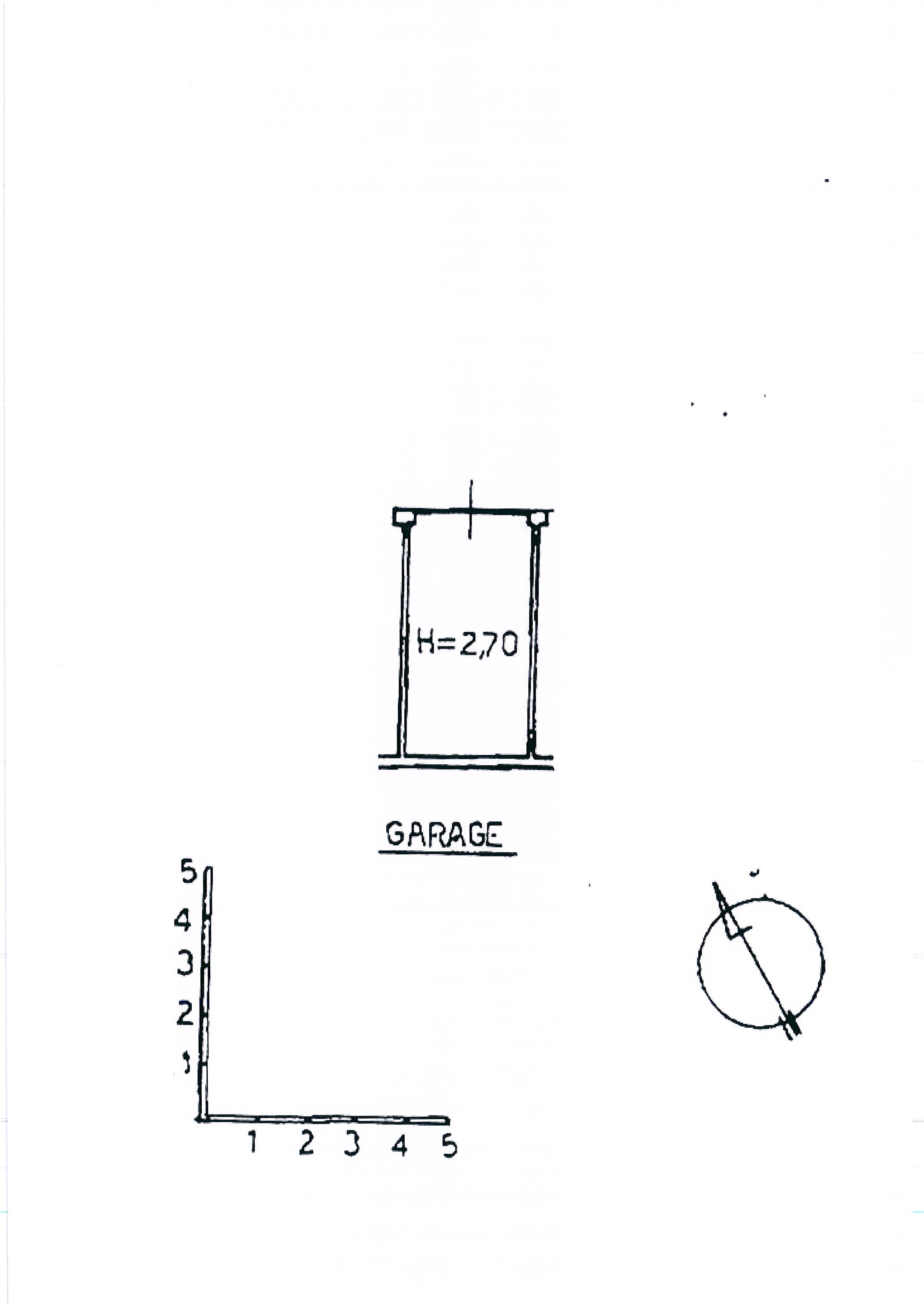 Planimetria 1/2 per rif. 1989a