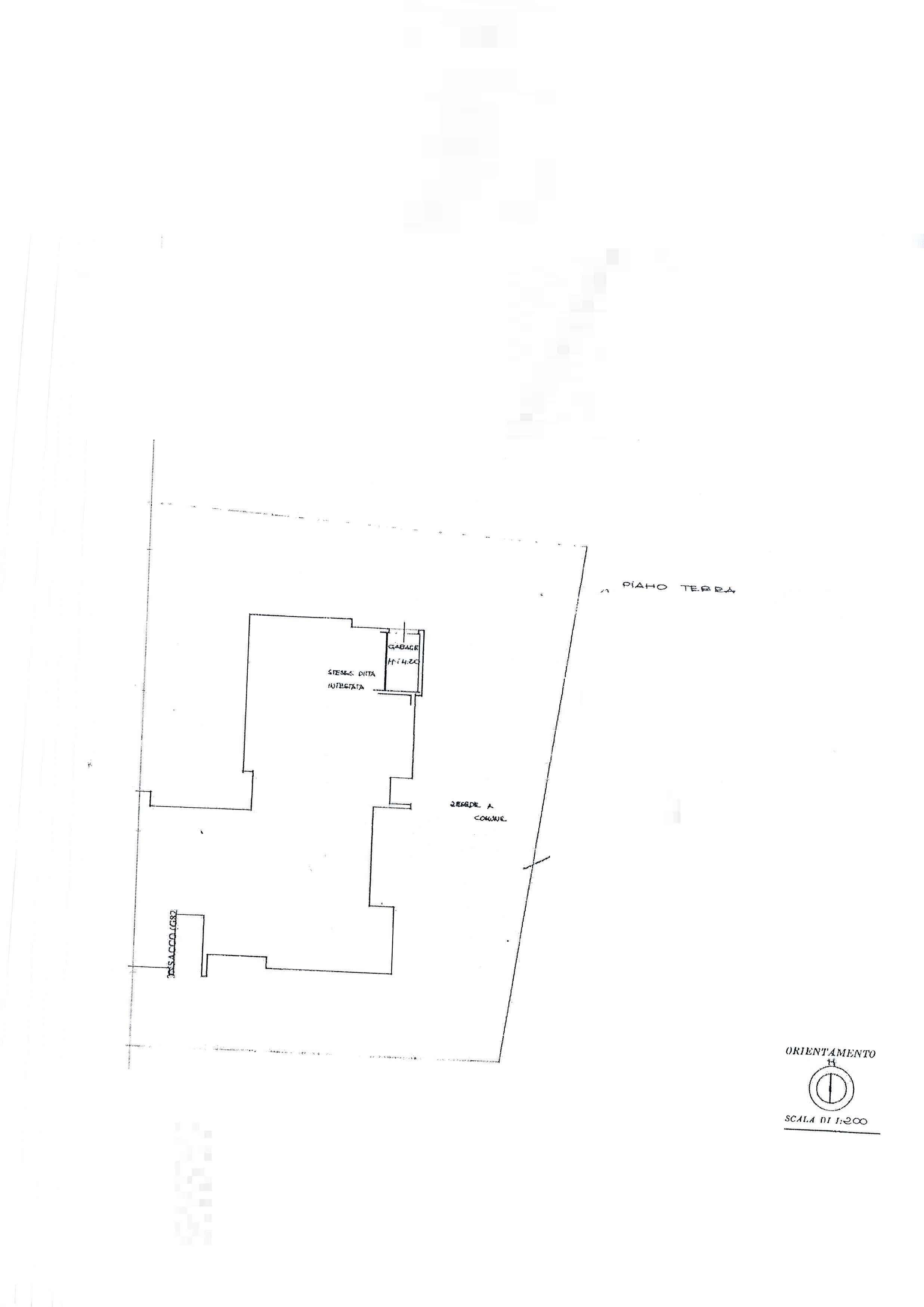 Planimetria 1/3 per rif. 1999a