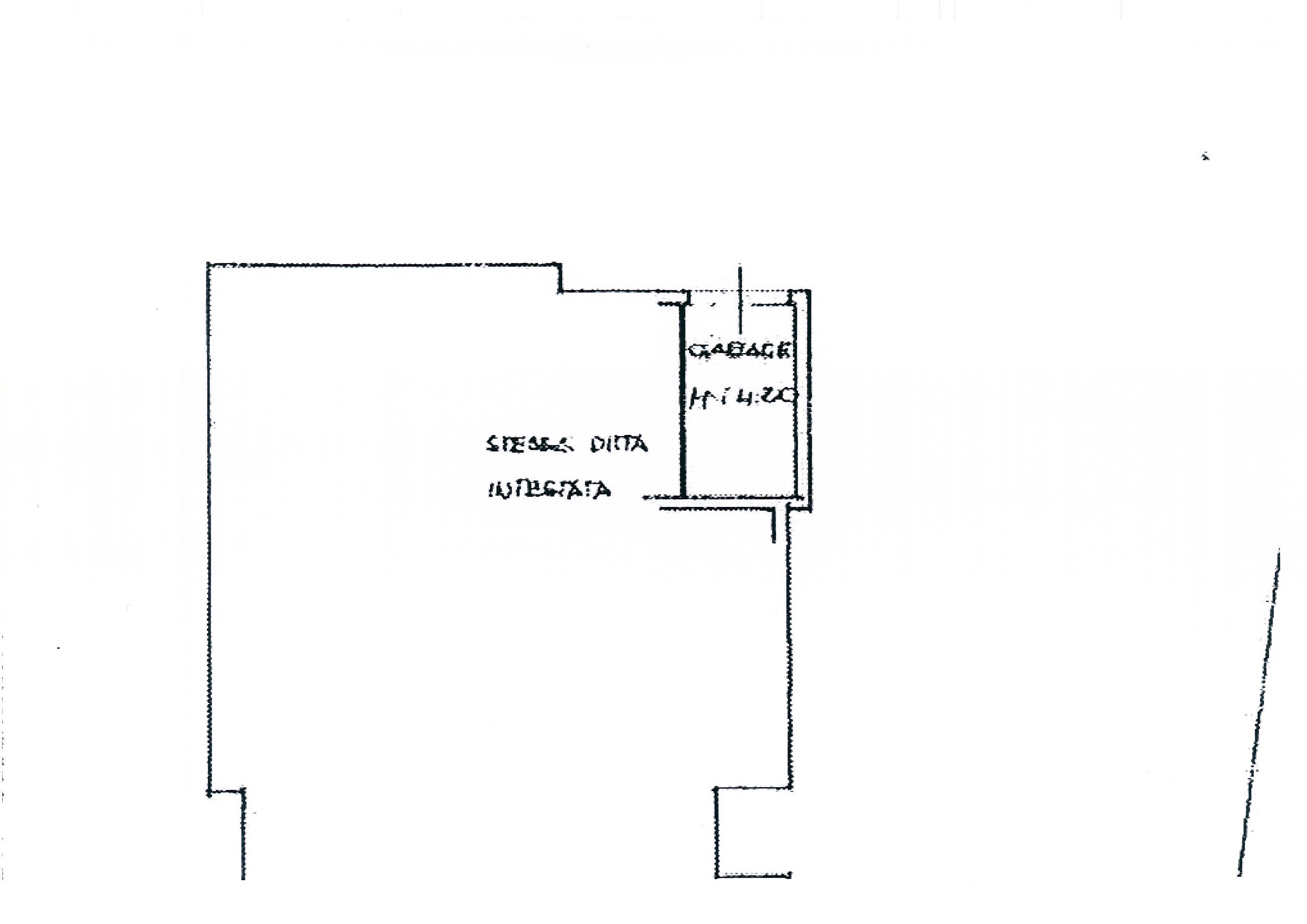 Planimetria 3/3 per rif. 1999a